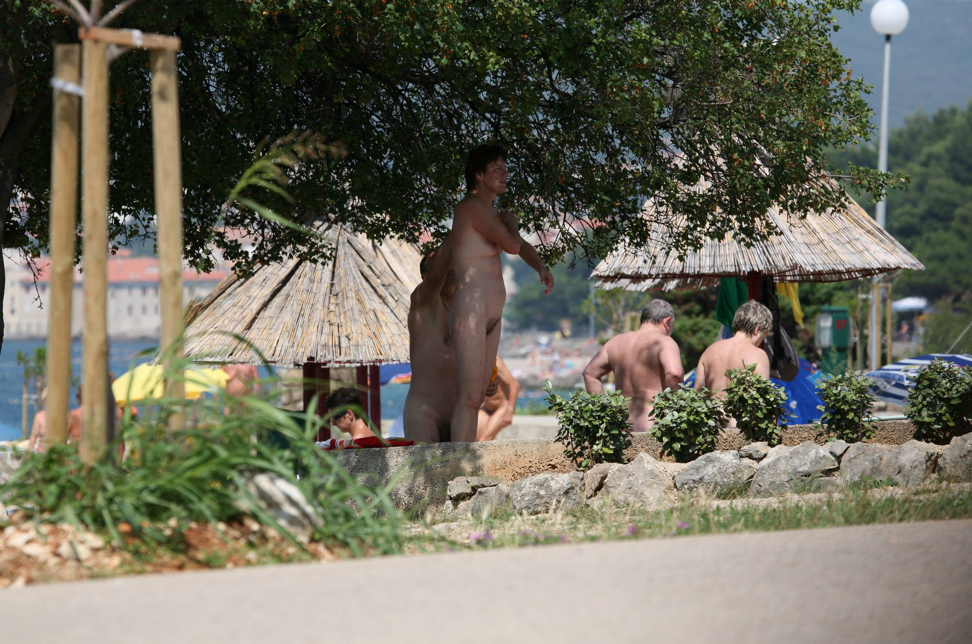 Pure Nudism Photos Bondi Beach-Park Grounds - 2