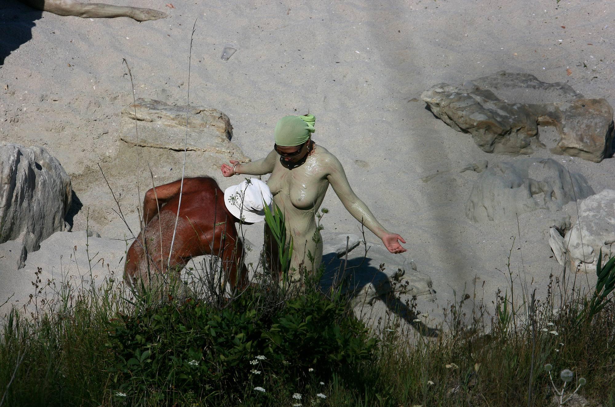 Purenudism Pics Bulgarian Girl's Paint-Over - 1
