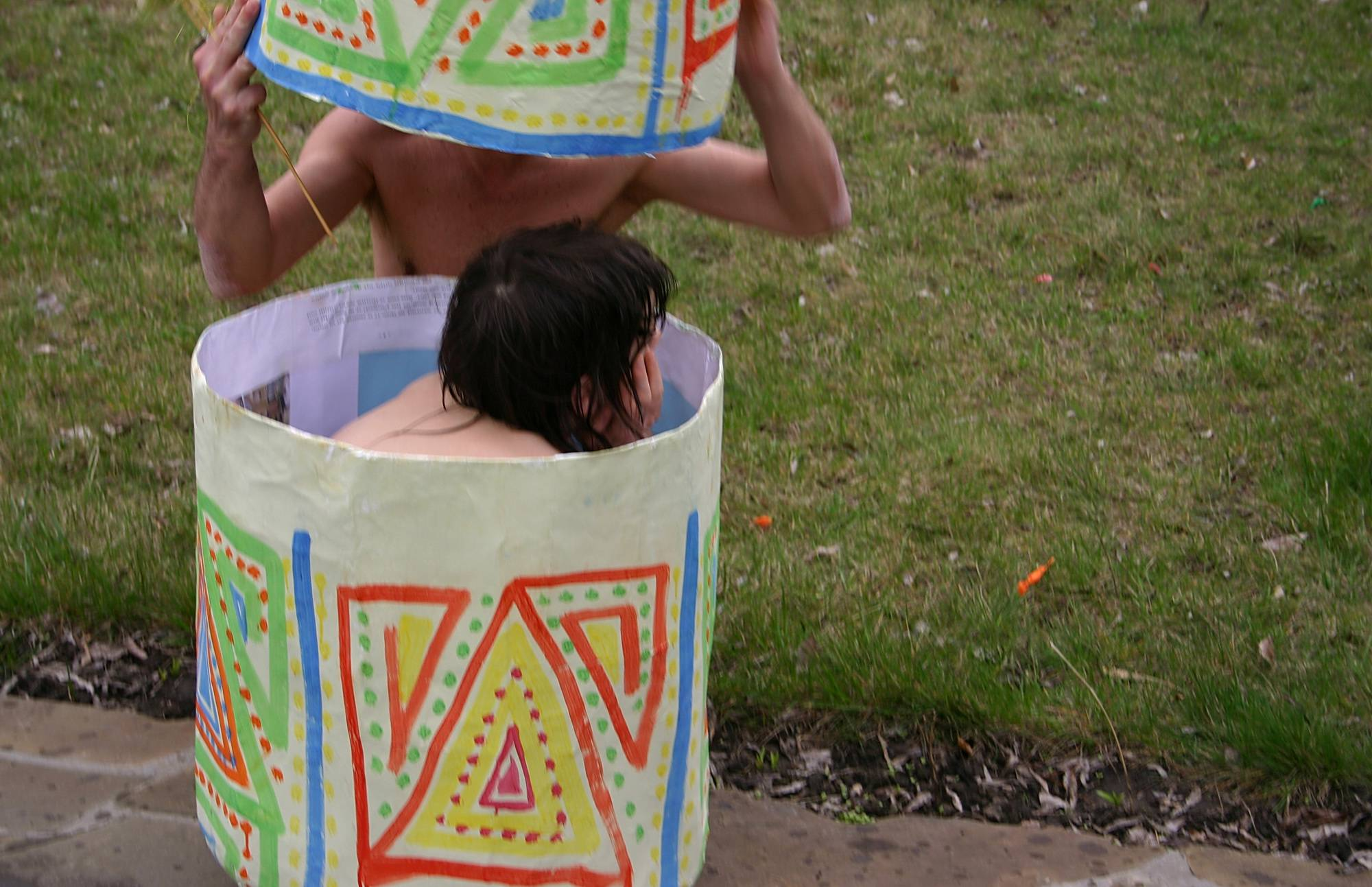 Pure Nudism Photos Carwash Double Egg Walk - 1