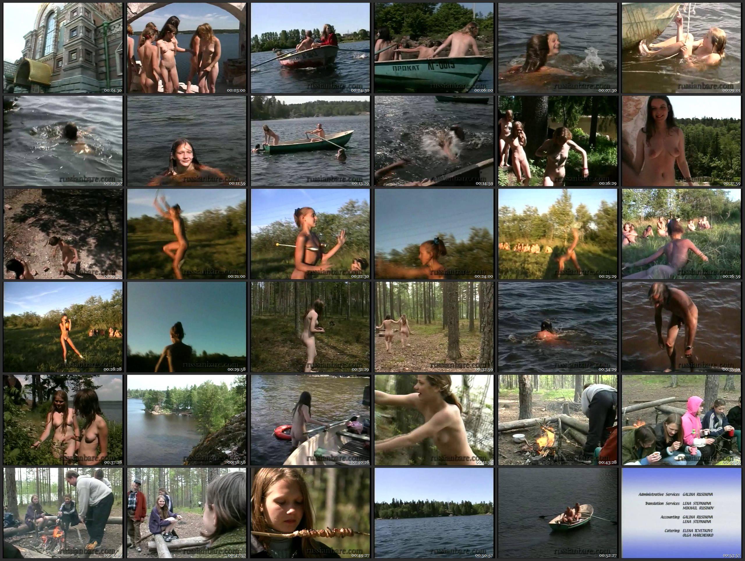 Enature Videos Castle Naturism - Naturism in Russia 2000 Series - Thumbnails