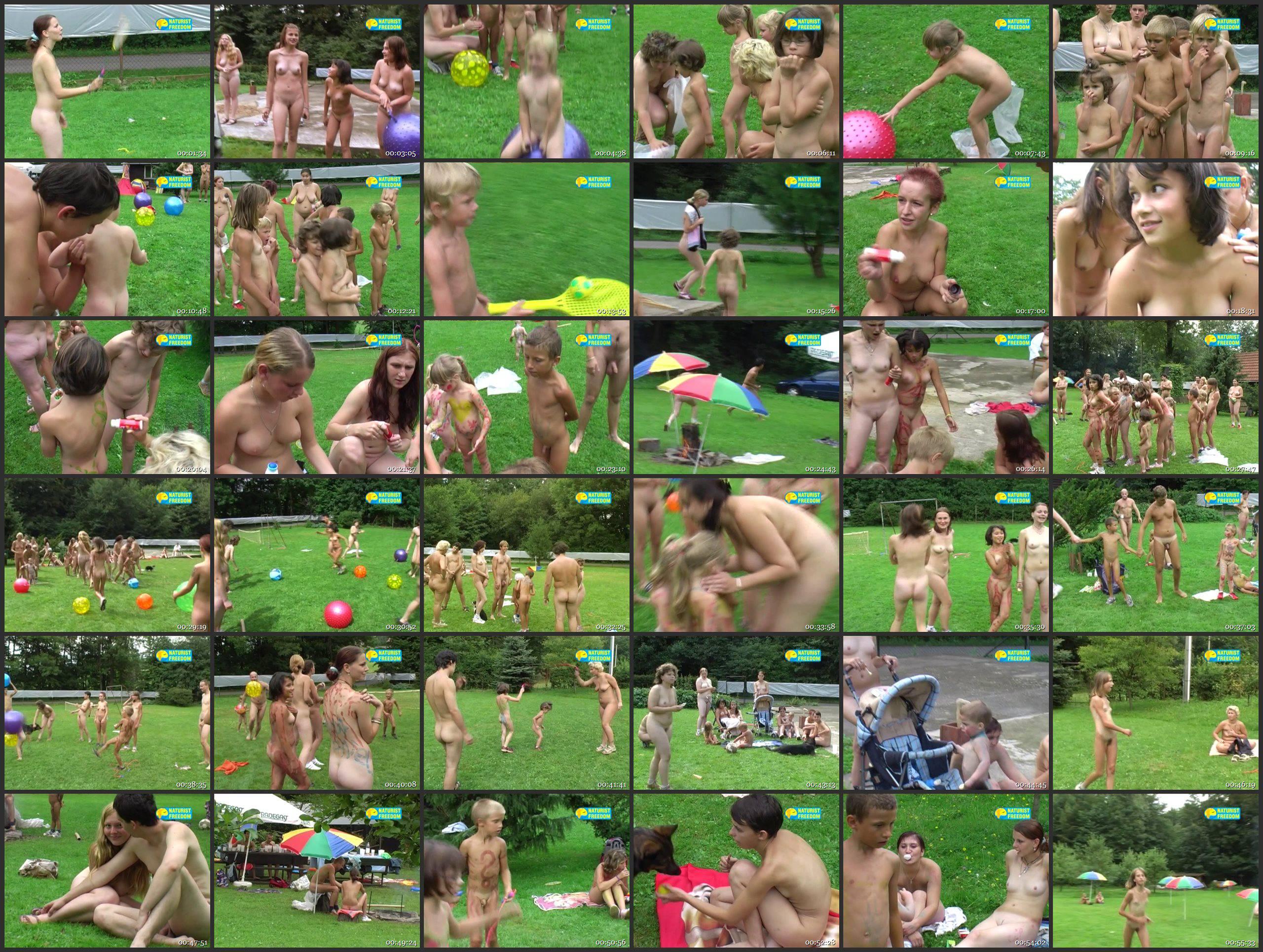 Naturist Freedom Videos Children's Afternoon - Thumbnails