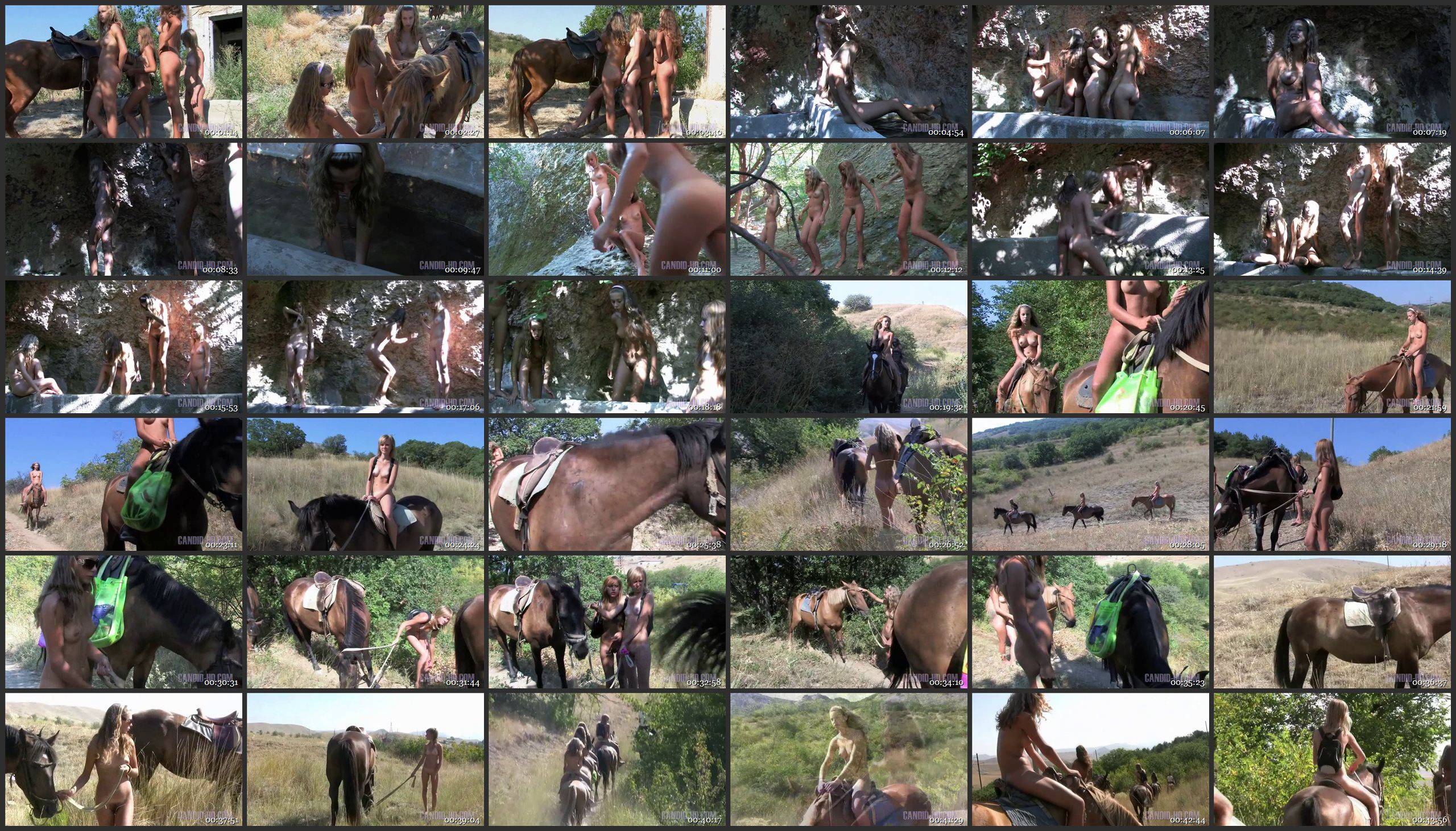 Candid-HD.com Country Horse Ride - Thumbnails