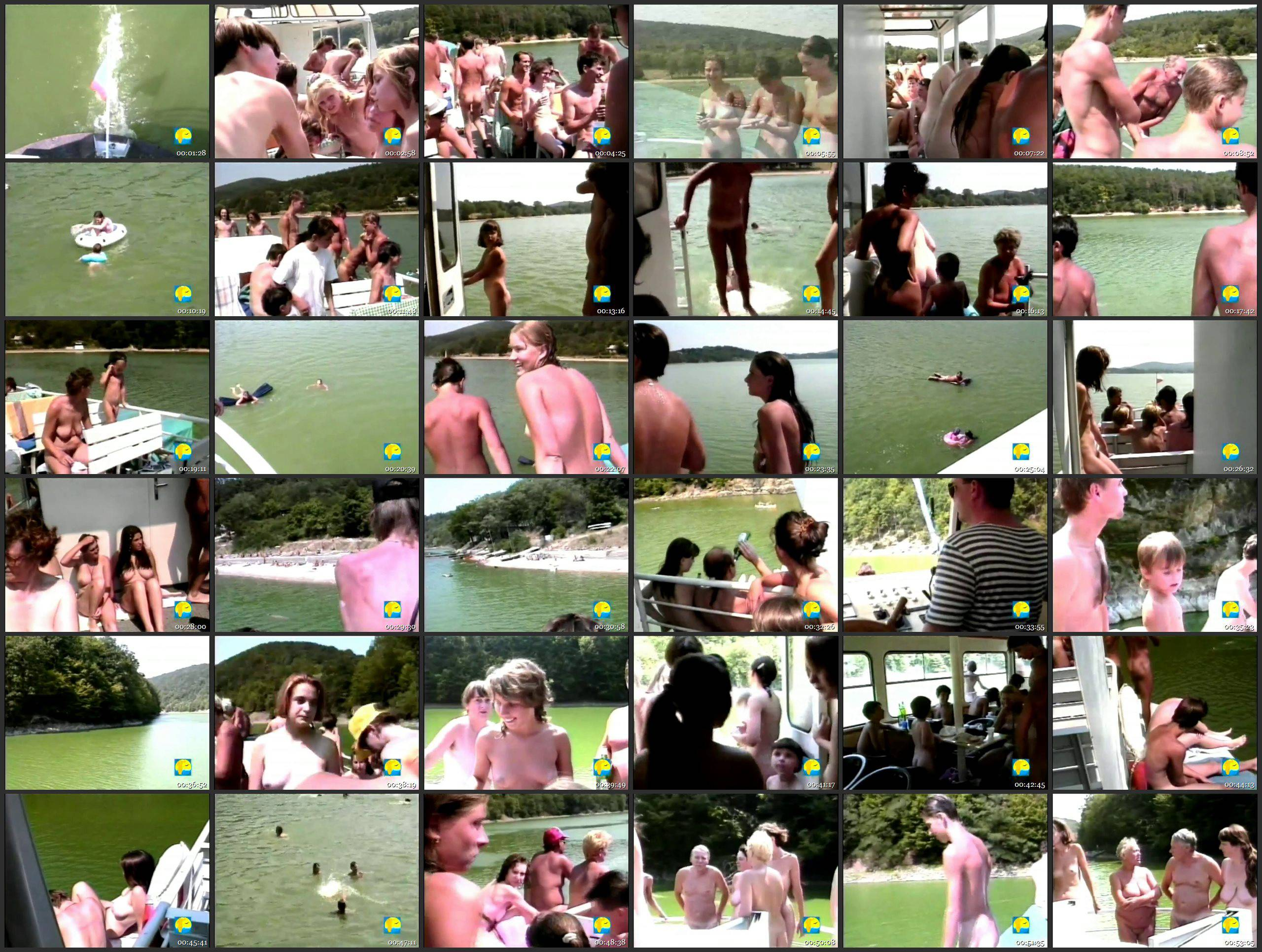 Cruising Lake Naked - Thumbnails