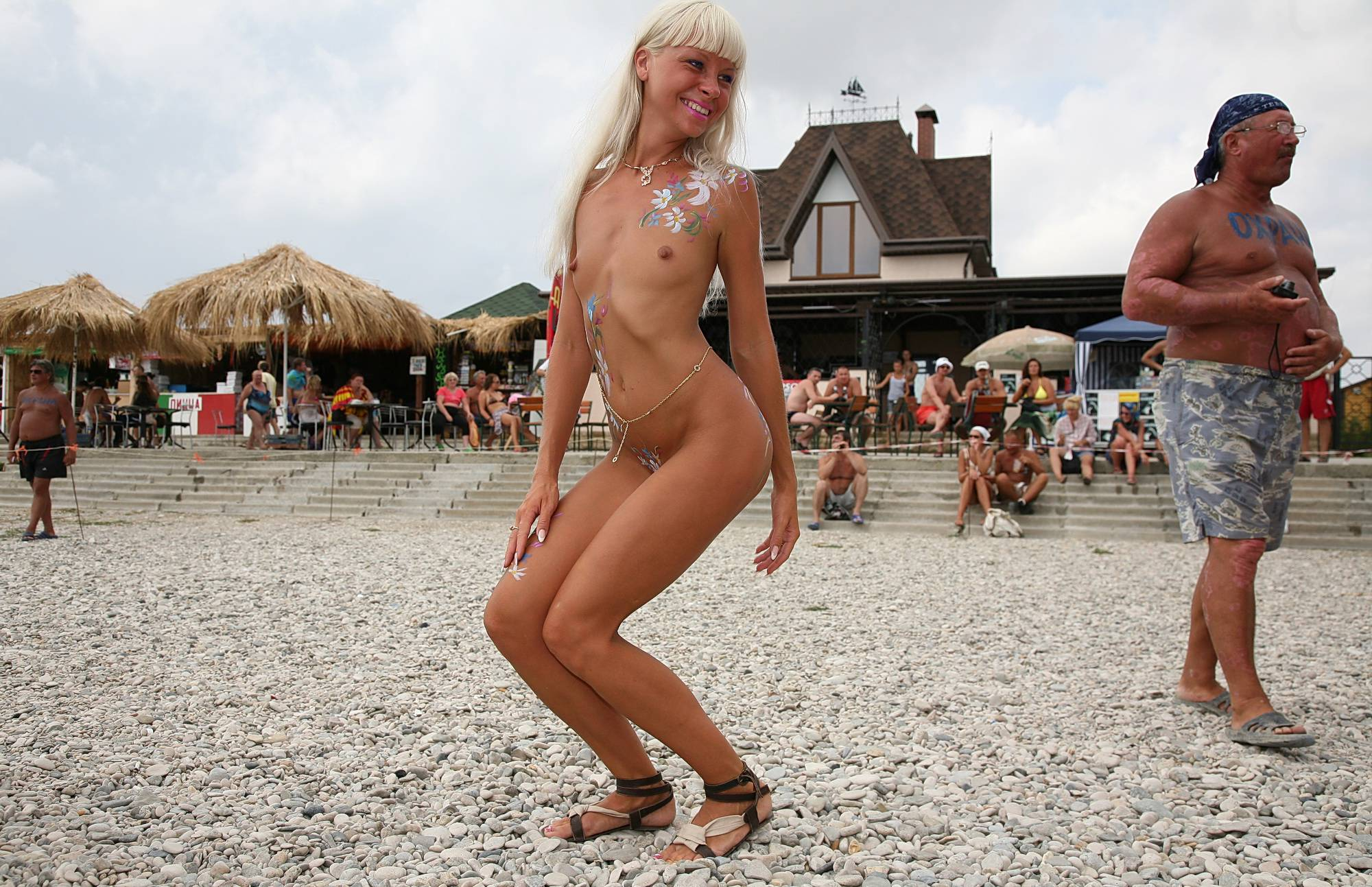 Pure Nudism Images Enjoying Some Time Off - 1