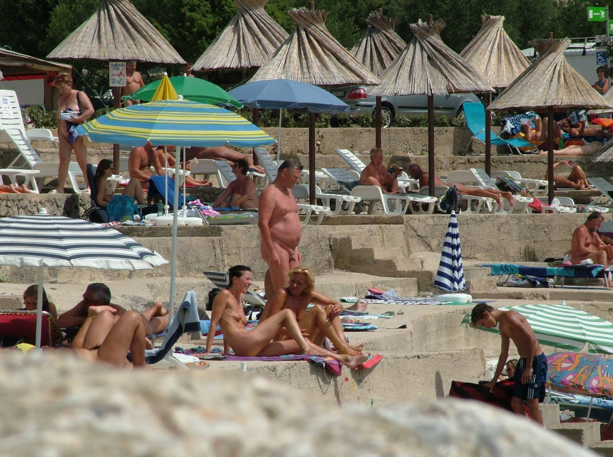 Pure Nudism Images FKK Europe Pyramid Shore - 3