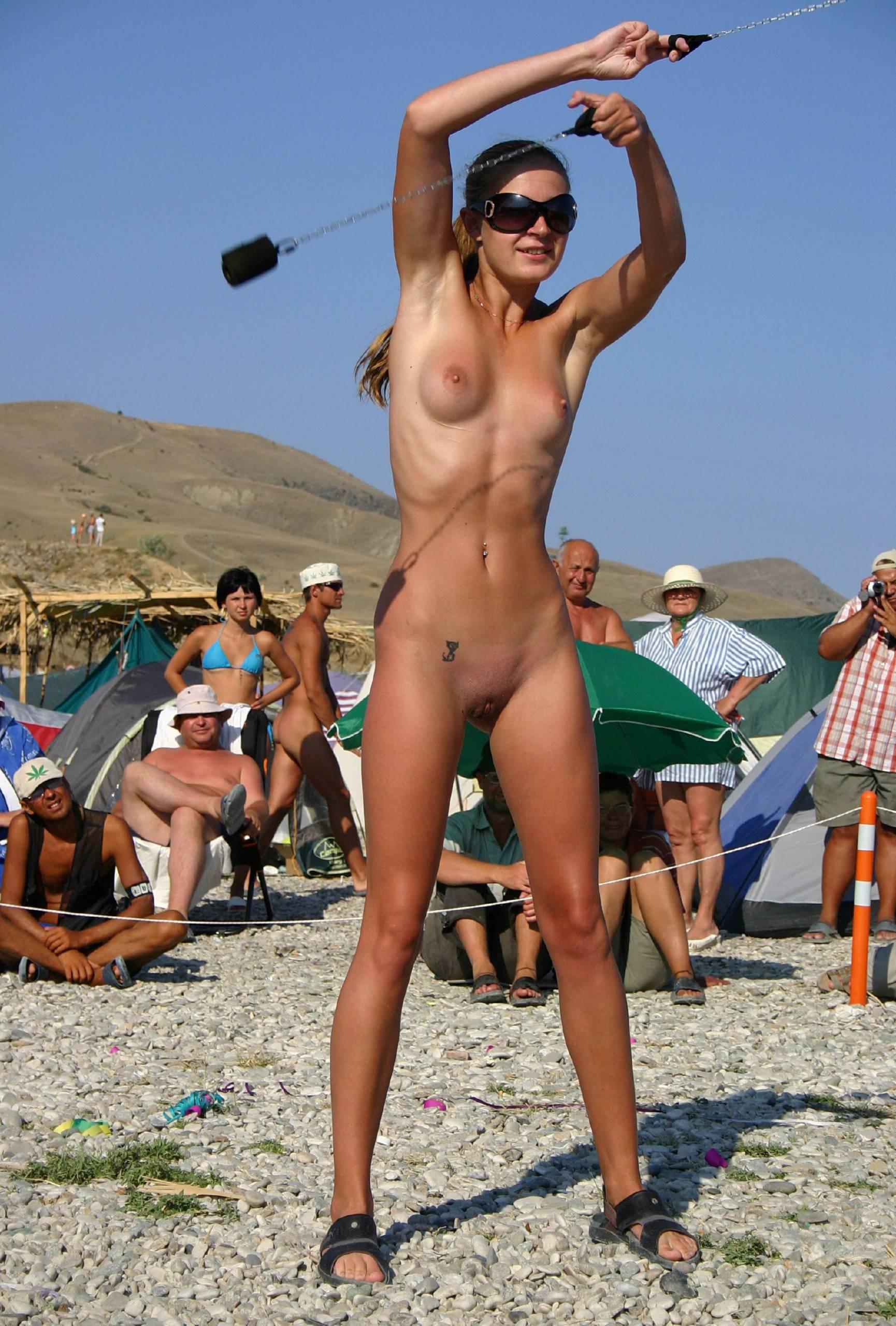 Pure Nudism Pics Female Fire Ninja Warrior - 1