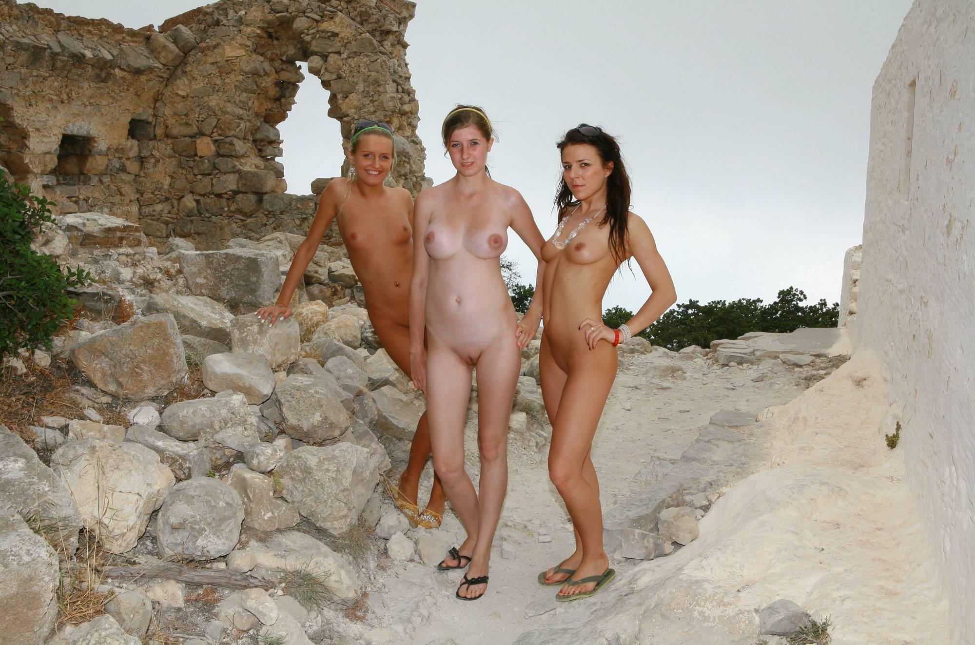 Purenudism Images Greek Old Stone Ruins - 1
