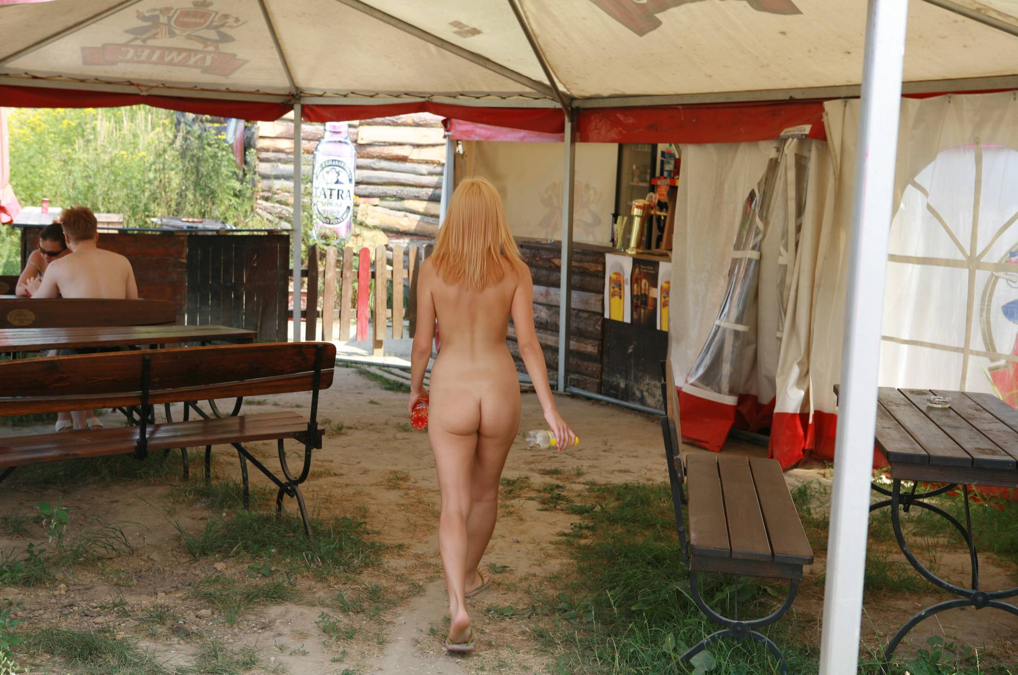 Pure Nudism Photos Jess' Outdoor Store Visit - 2