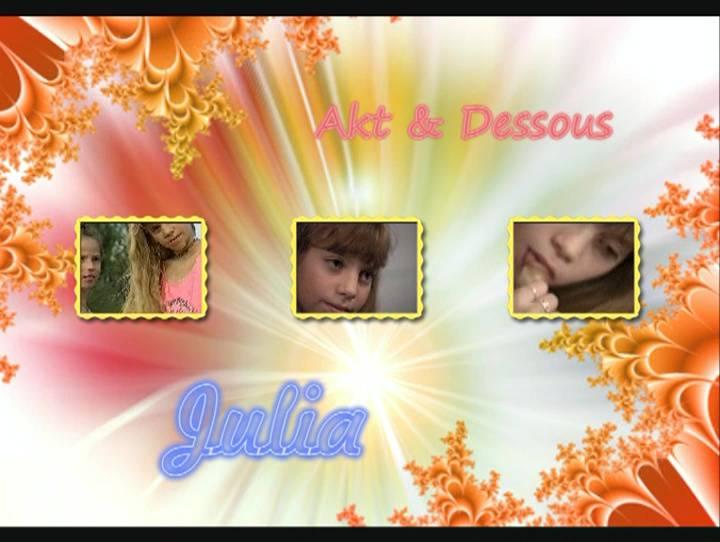 Julia Akt and Dessous - Poster
