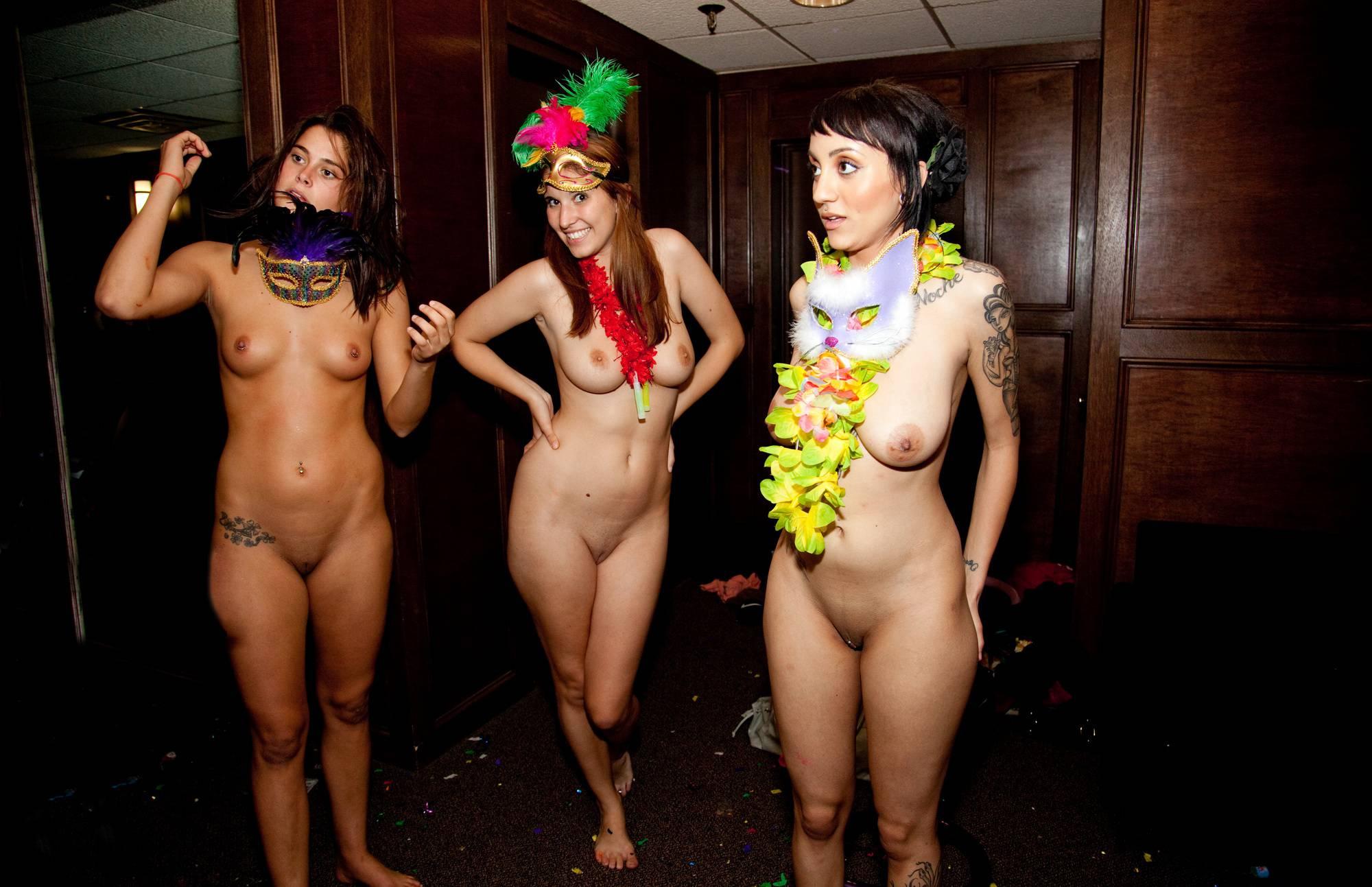 Masquerade Hallway Fun - 3
