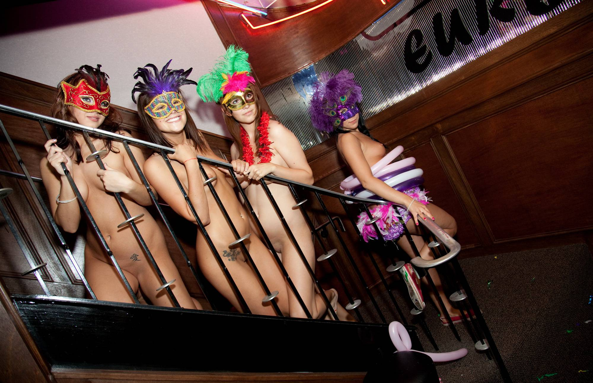 Purenudism Pics Masquerade Stairs Galore - 1