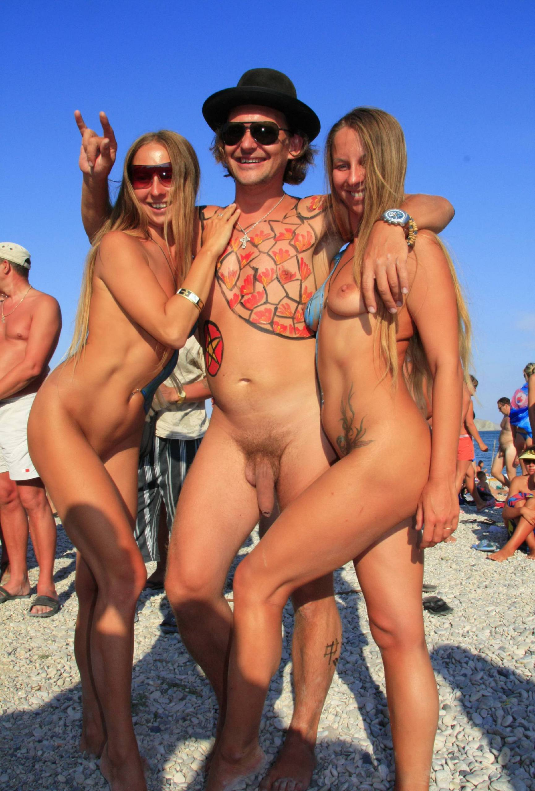 Pure Nudism Images Mountain-Top Air Shots - 2