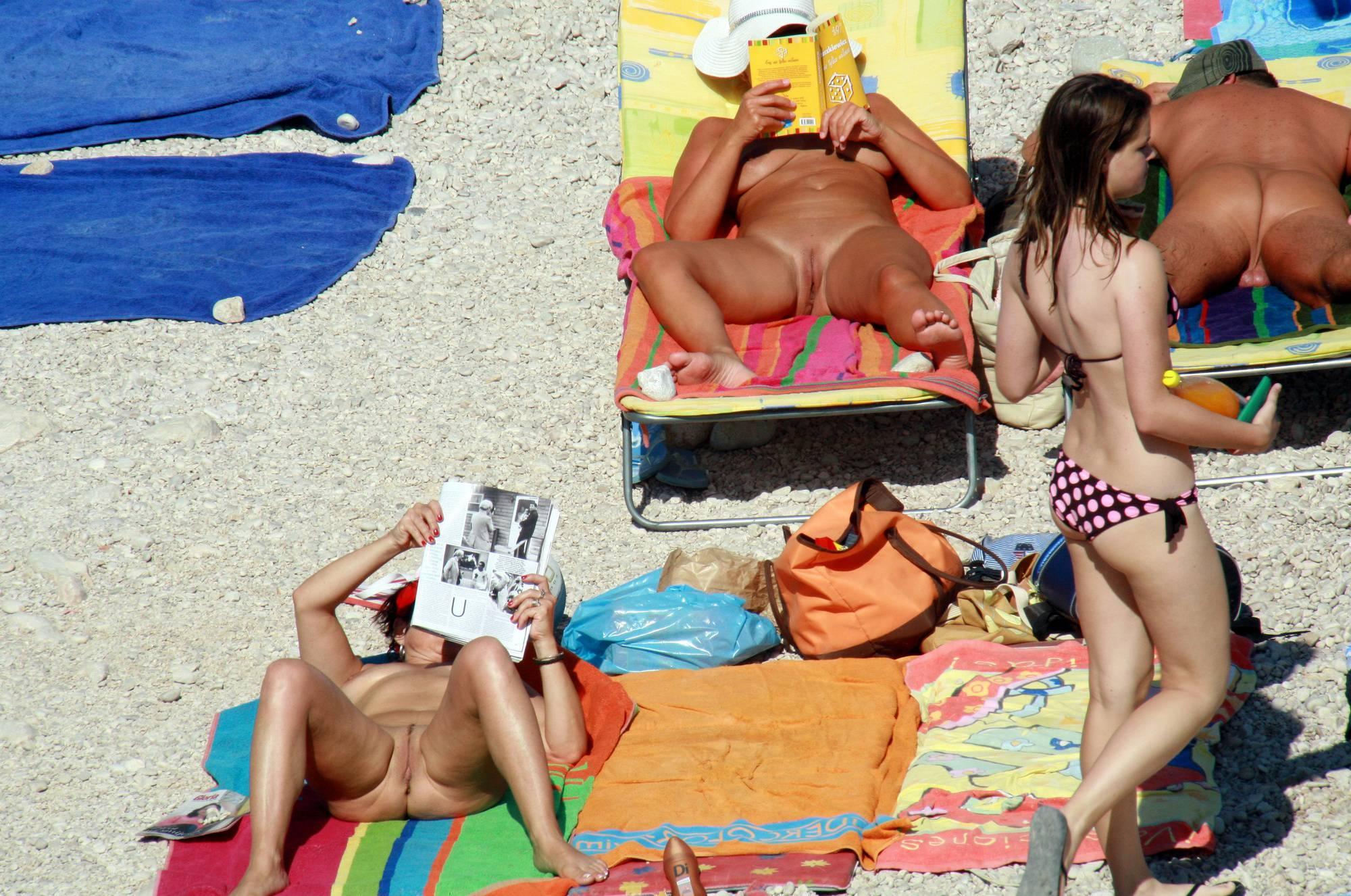 Naturist Beach Relaxation - 3
