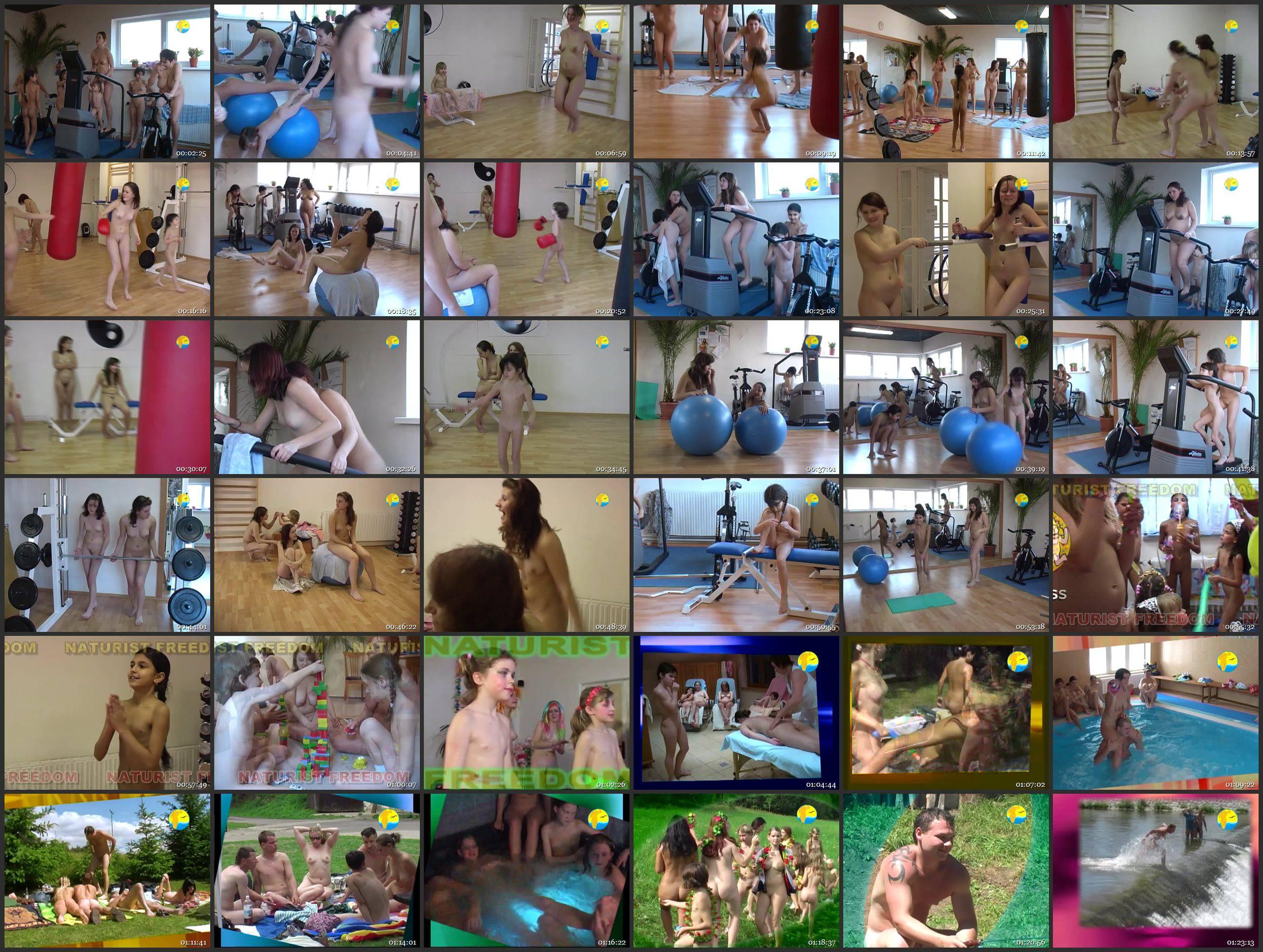 Fitness Girls - Thumbnails