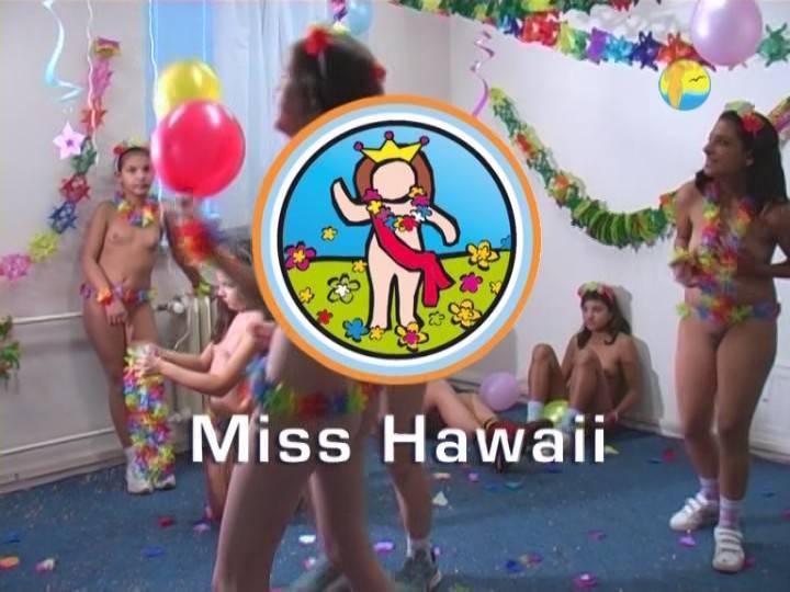 Naturist Freedom Miss Hawaii - Poster
