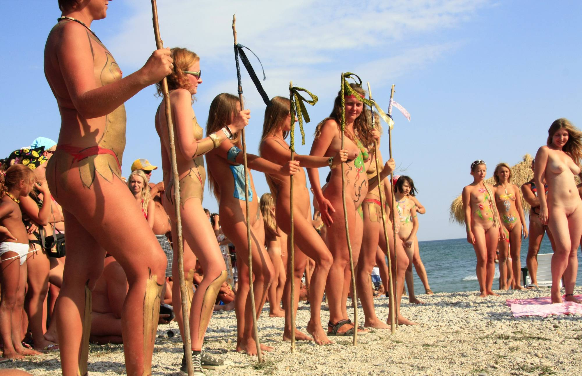 Purenudism Images Naturist Girls Wall Army - 3
