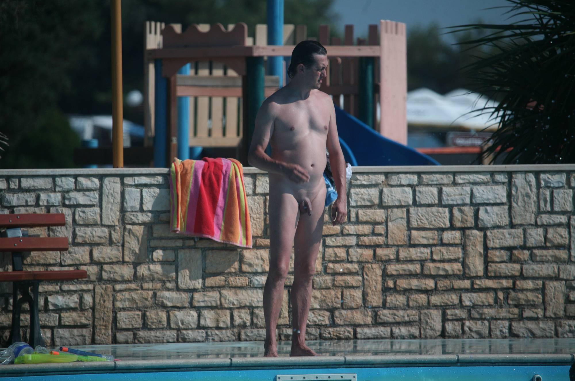 Pure Nudism Photos Naturist Pool Push-Overs - 3