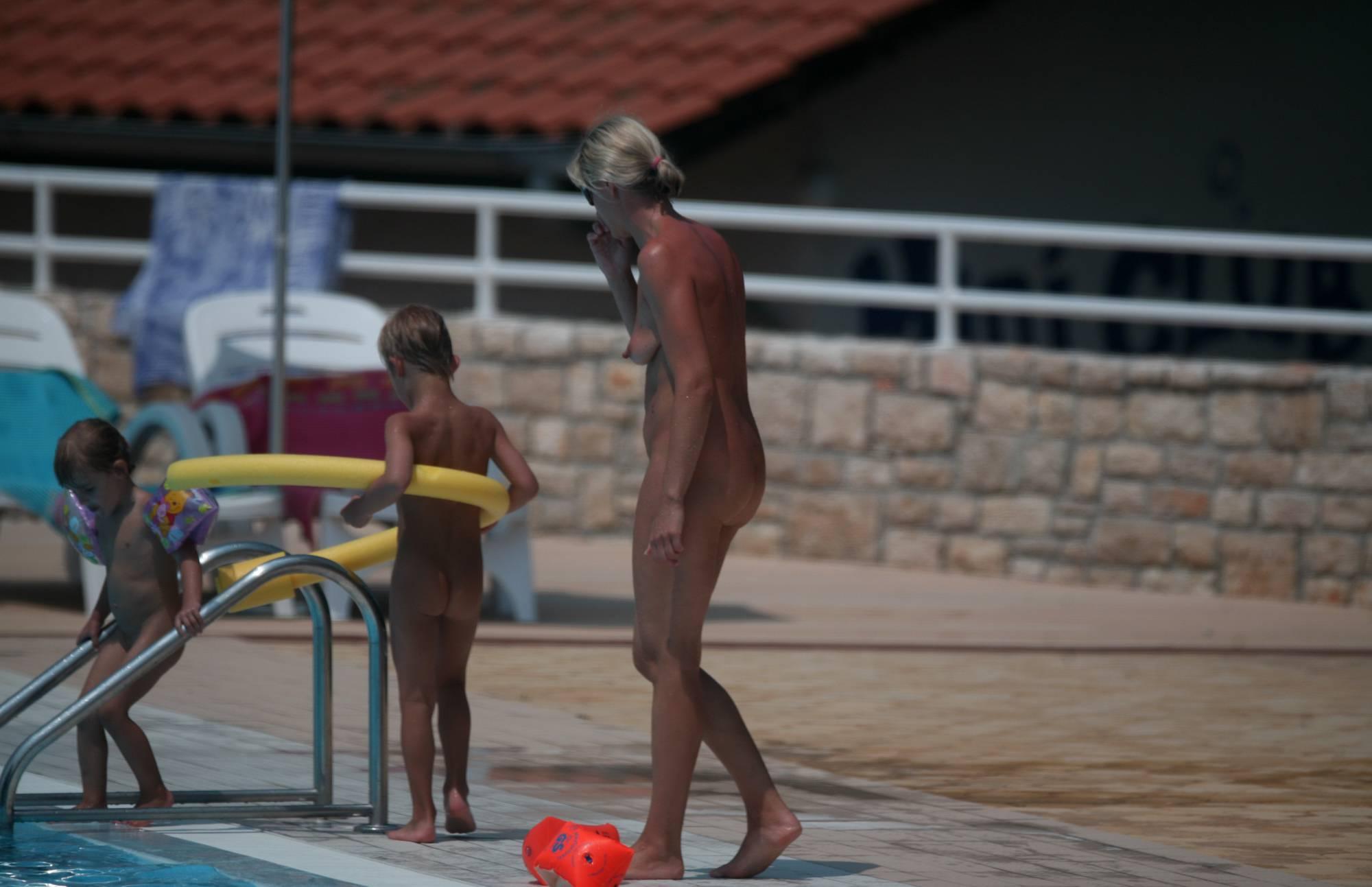 Naturist Poolside Families - 3