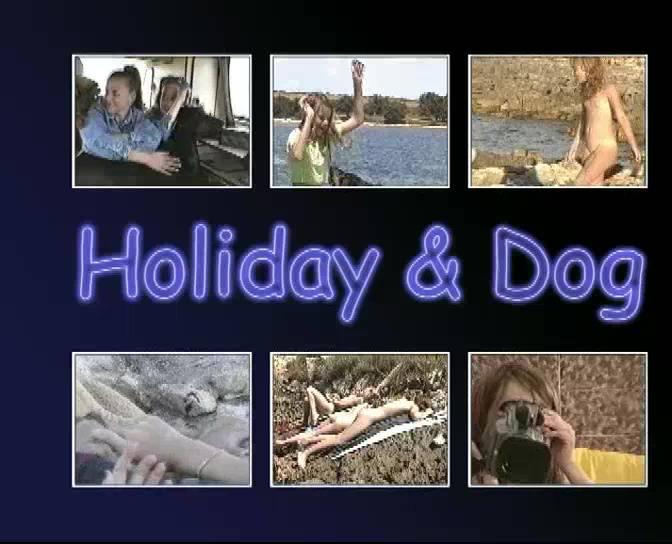Naturistin.com Holiday and Dog - Poster