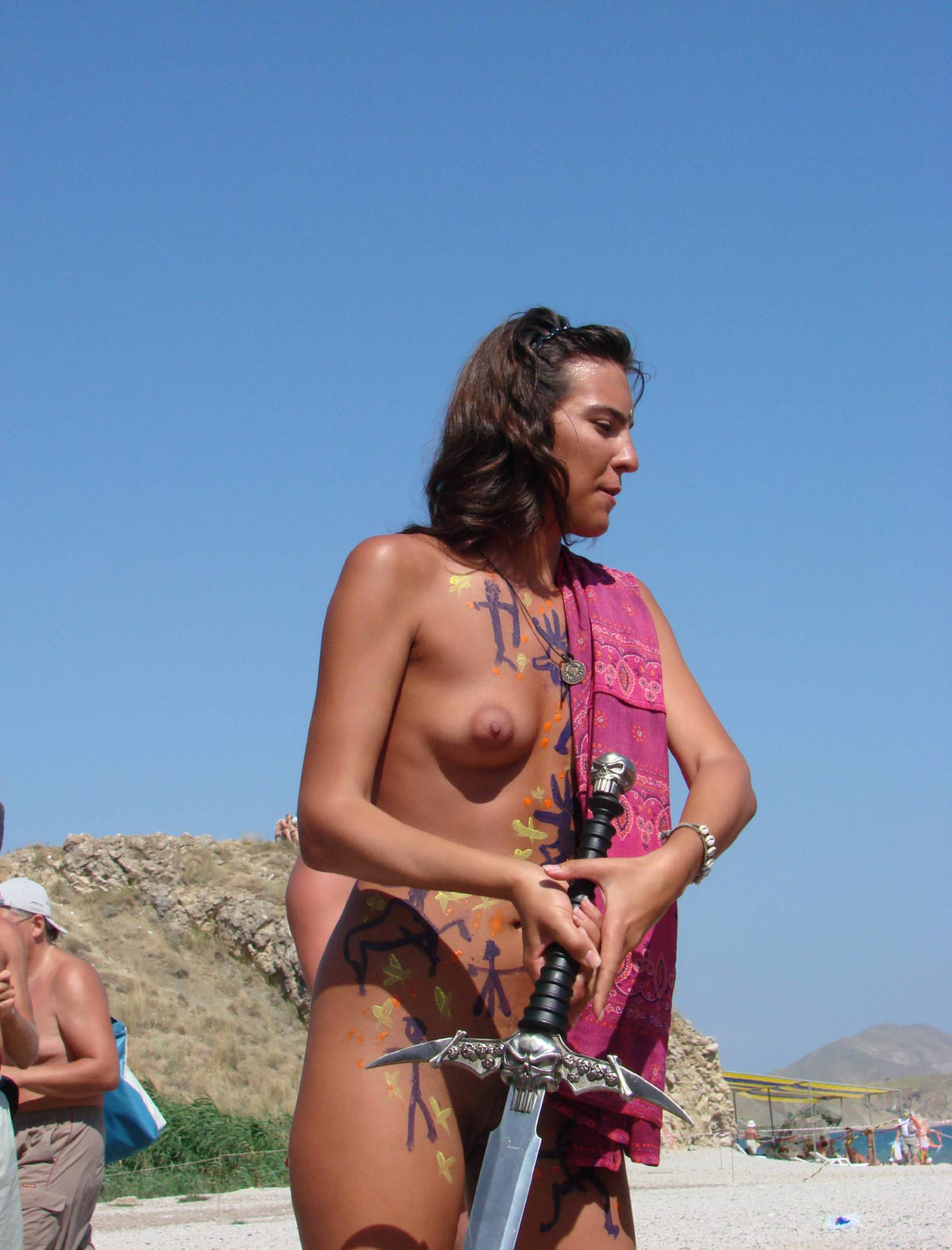 Pure Nudism Gallery Neptune Day Sword Fights - 2