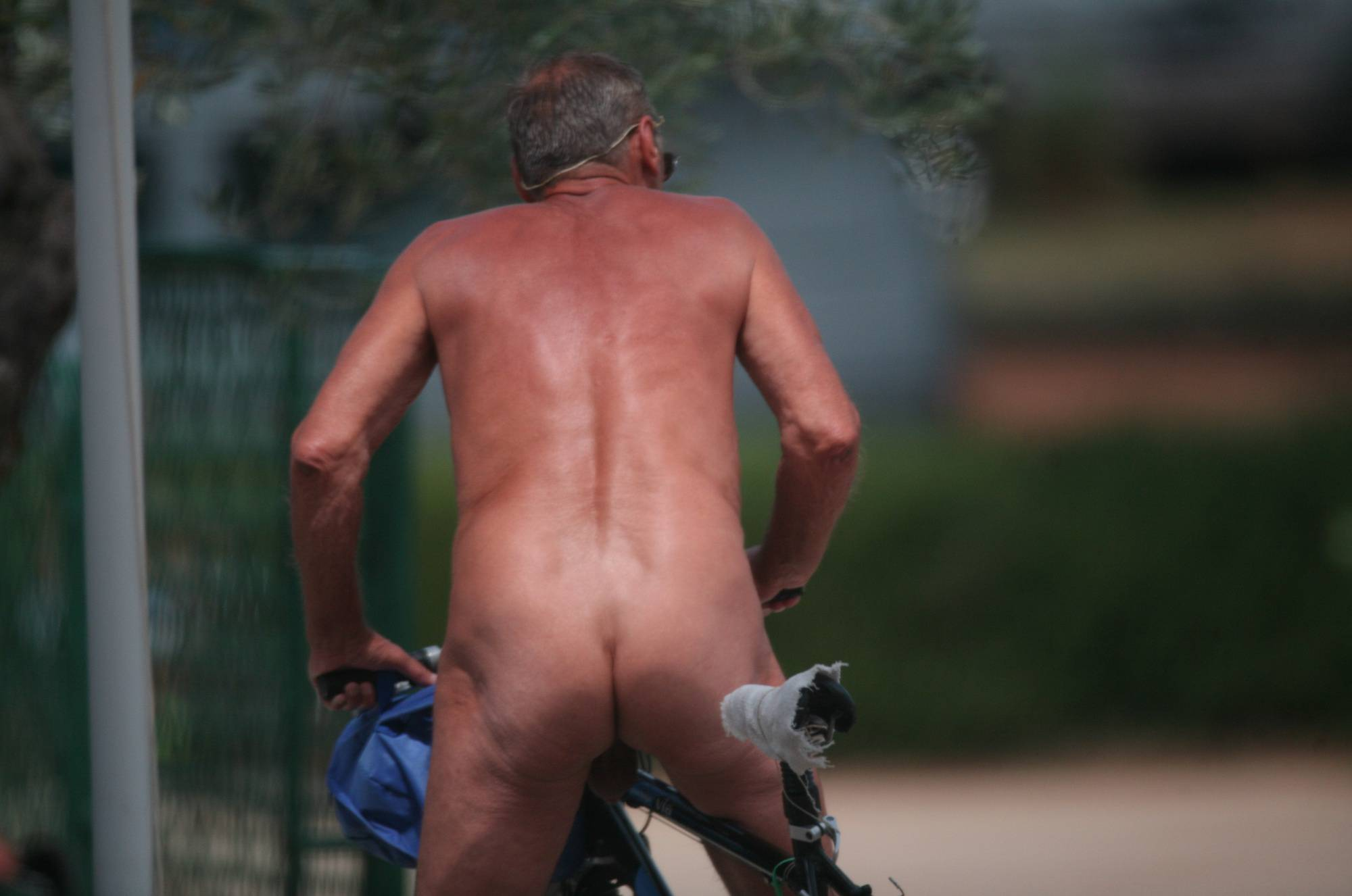 Nude Club Outdoor Biking - 3