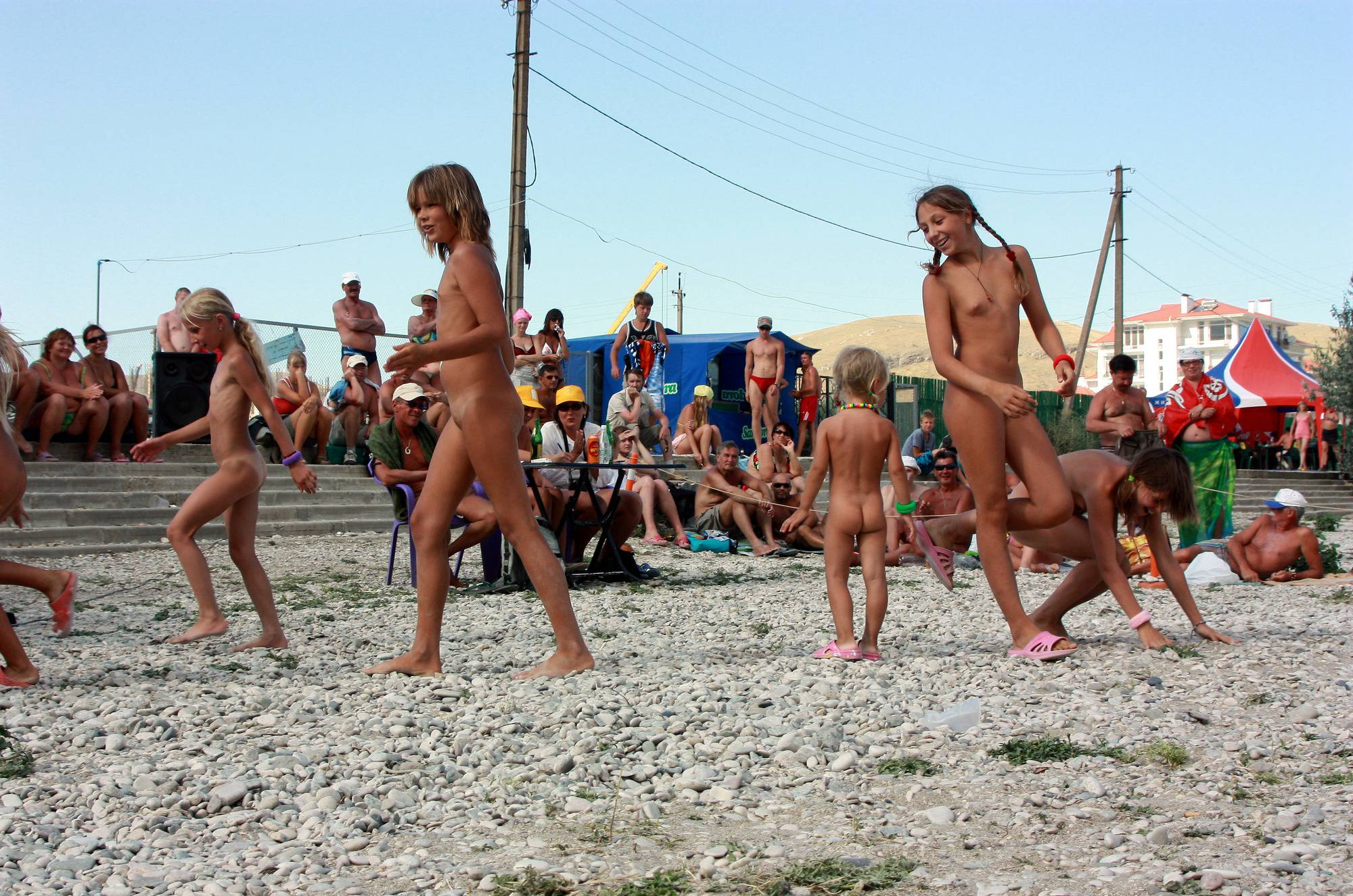 Purenudism Photos Nude Contestant Walk-Off - 1