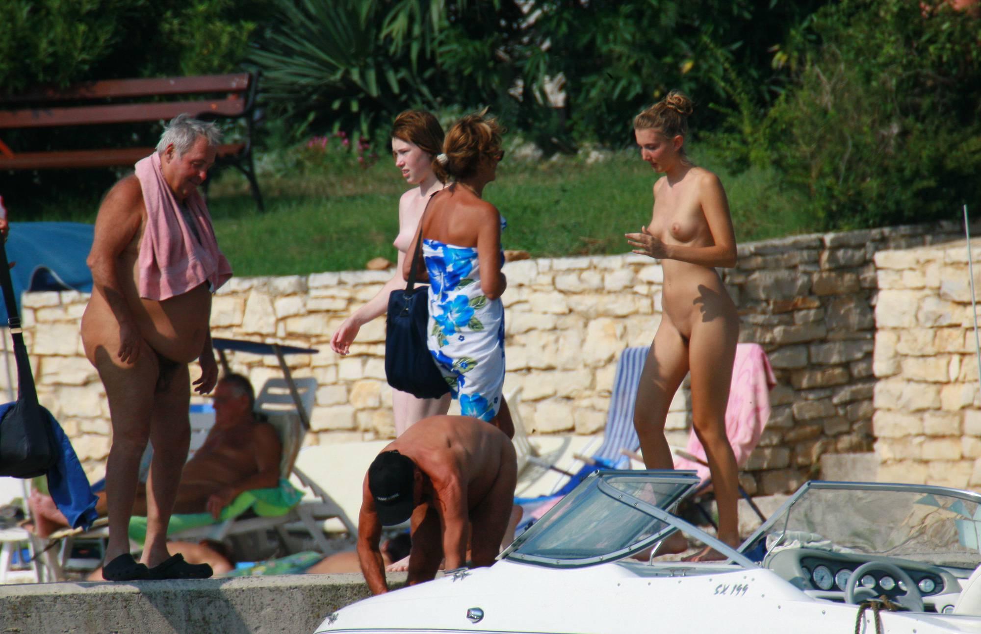 Purenudism Photos Nude Duet On-Water Slab - 1