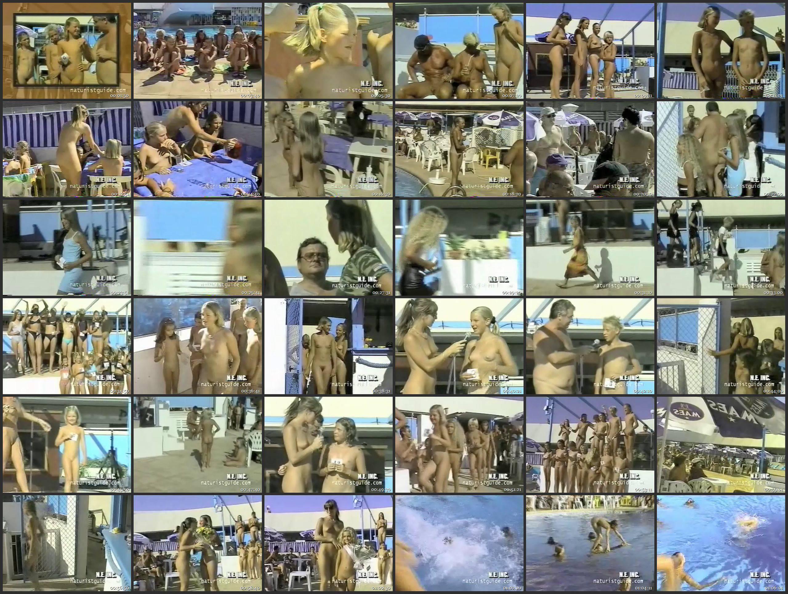 NudismProvider Junior Miss Pageant 1999 series Vol.3 - Thumbnails