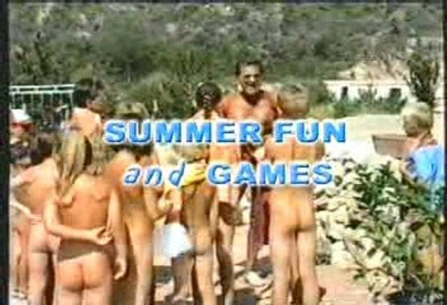Summer Fun and Games - Poster