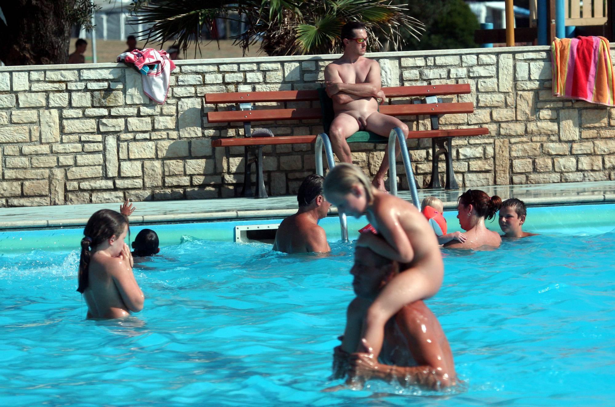 Purenudism Pics Nudist Pool In-Water Shots - 3