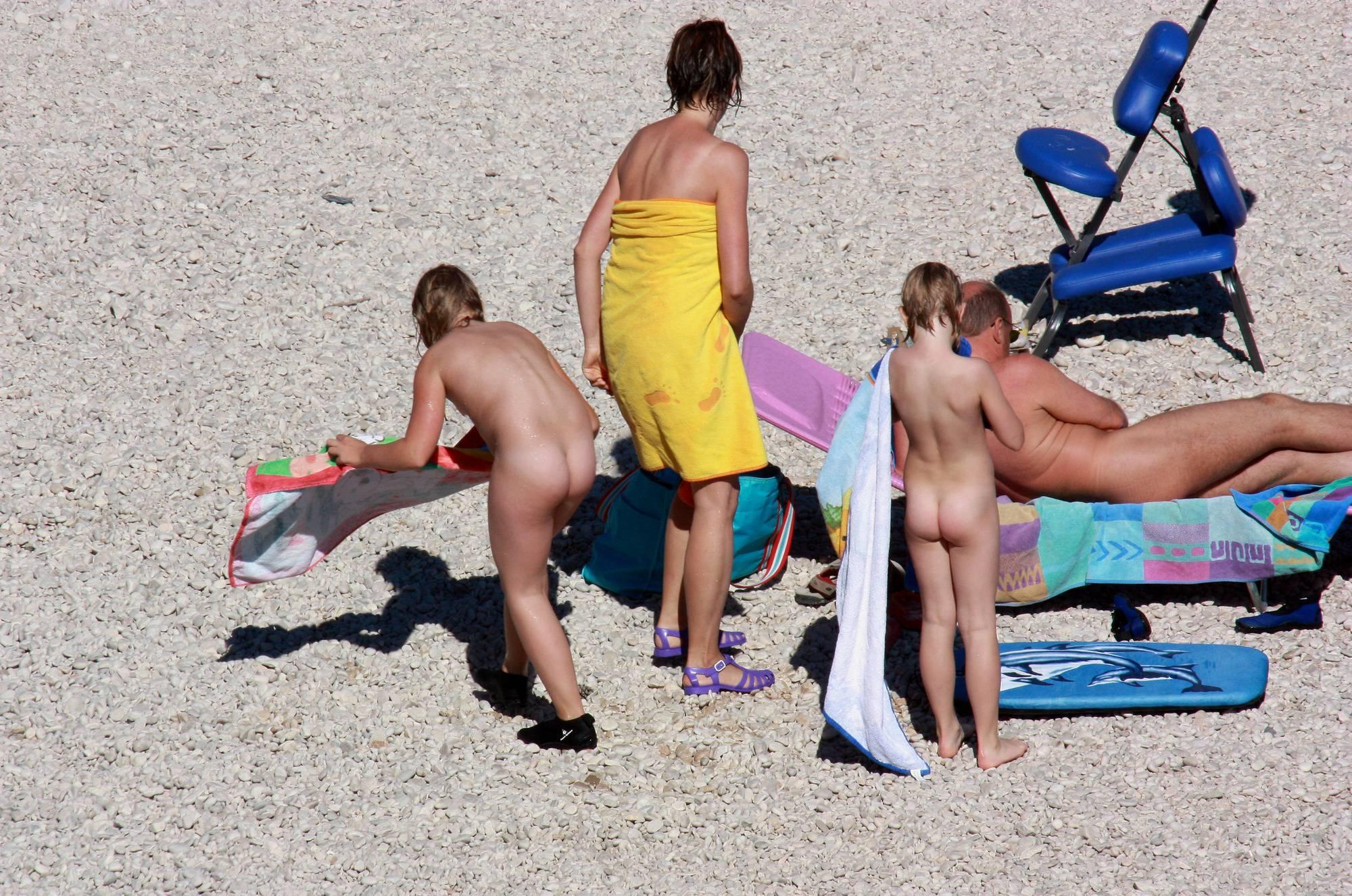 Nudist Sands Towel Wrap - 1