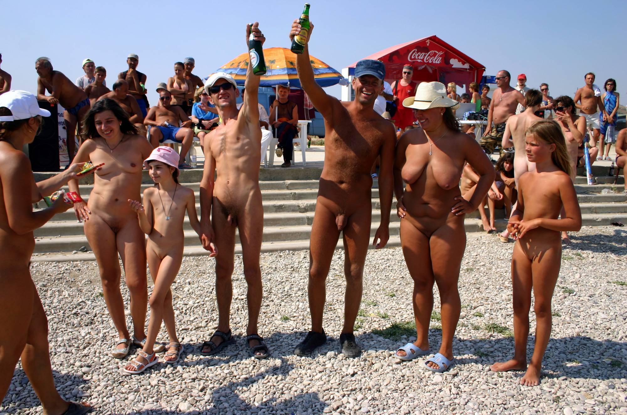 Nudist Show Family Photo - 1