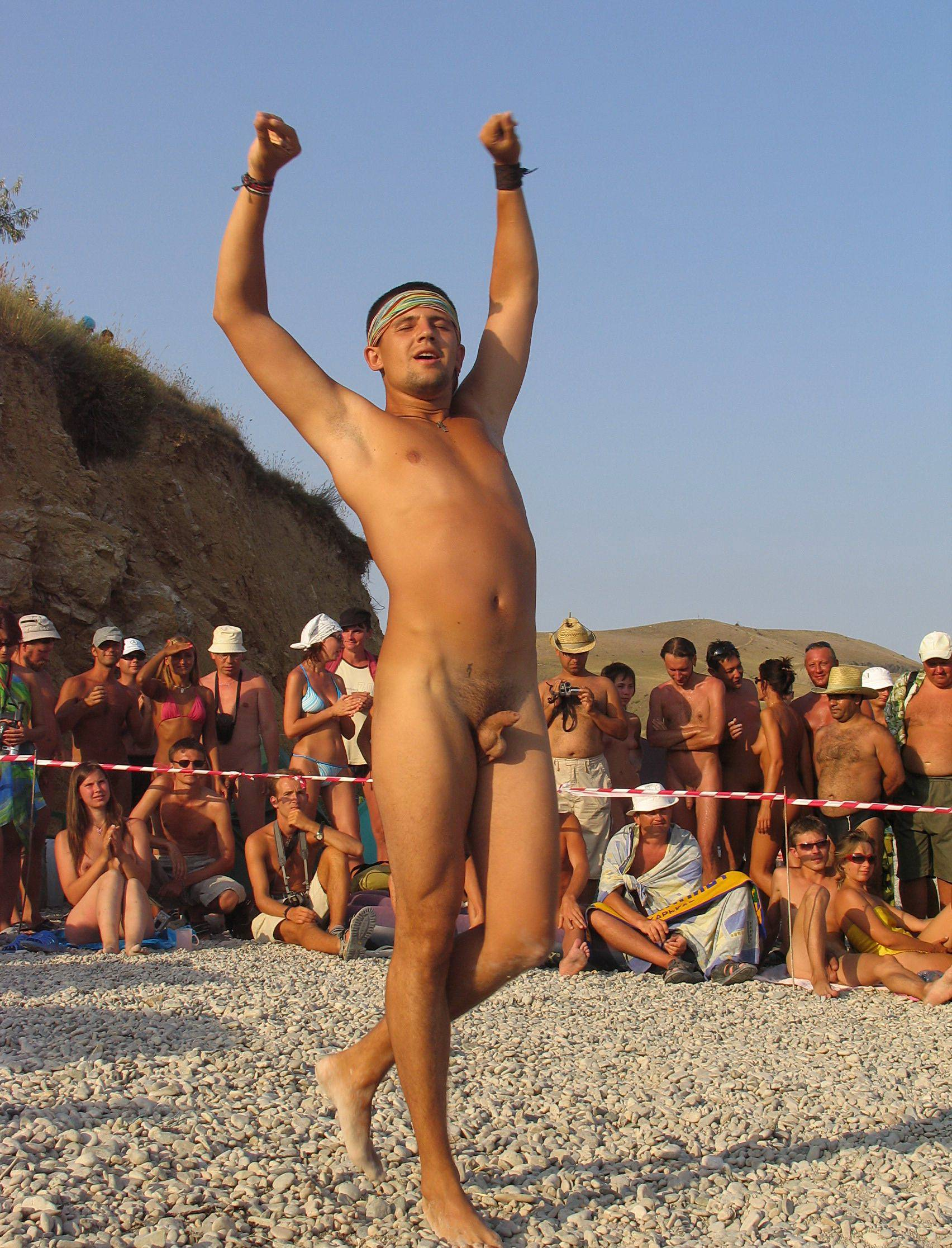 Pure Nudism Gallery Outdoor Beach Theatrics - 2