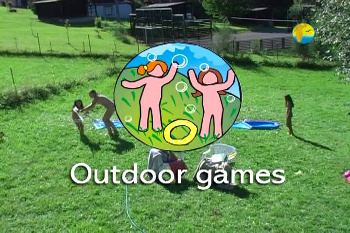 Naturist Freedom Outdoor Games - Poster