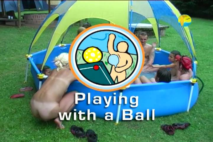 Naturist Freedom Videos Playing With a Ball - Poster