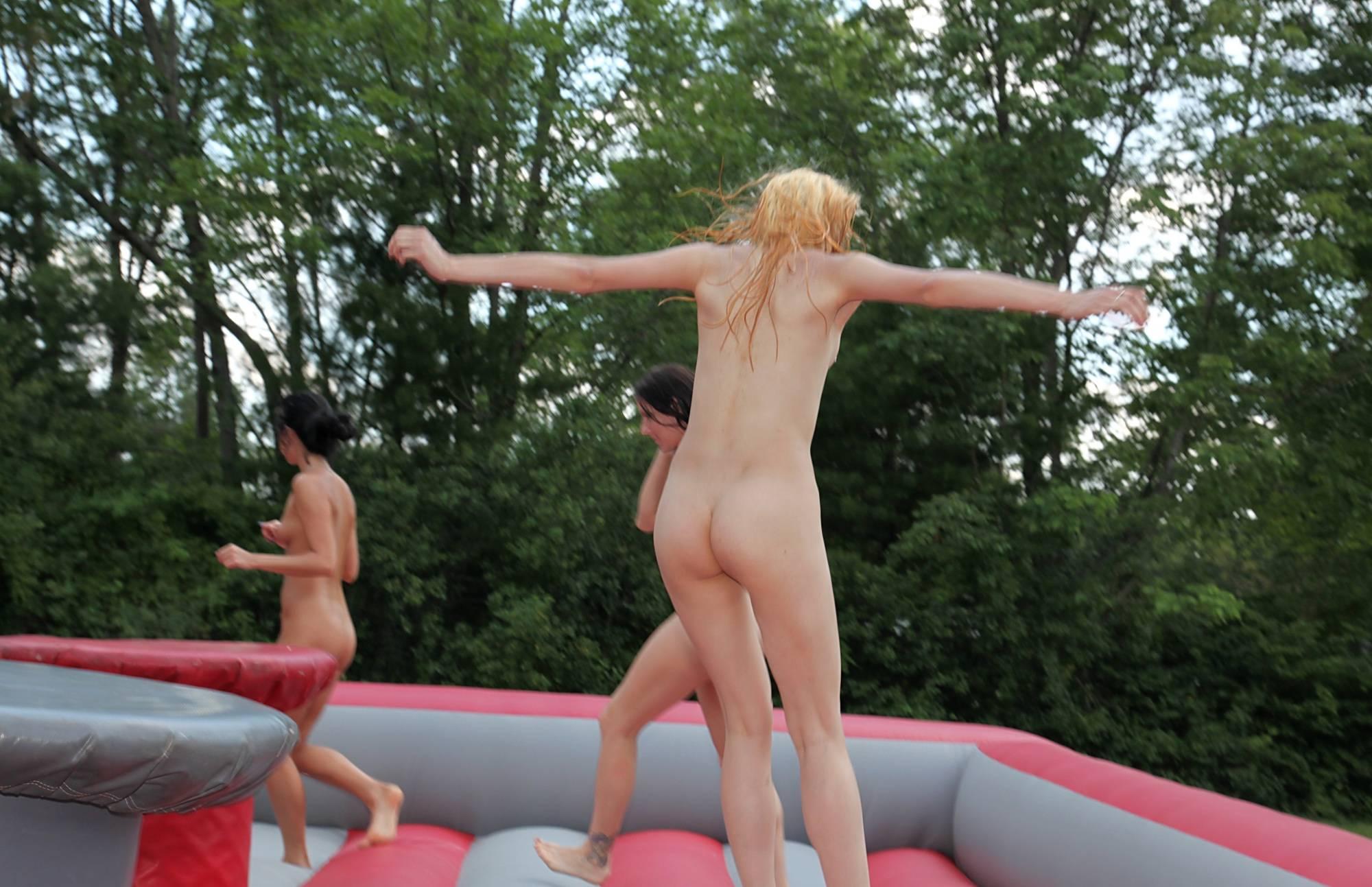 Pure Nudism Gallery Bouncy Arena Acrobats - 1