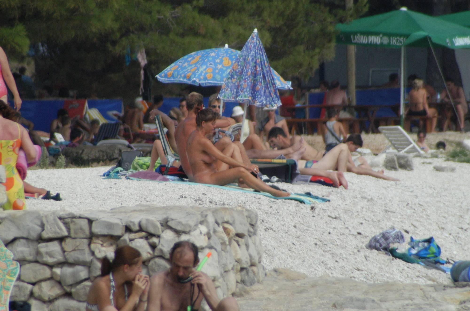 Pure Nudism RovinJ Rock-Side Beach - 1