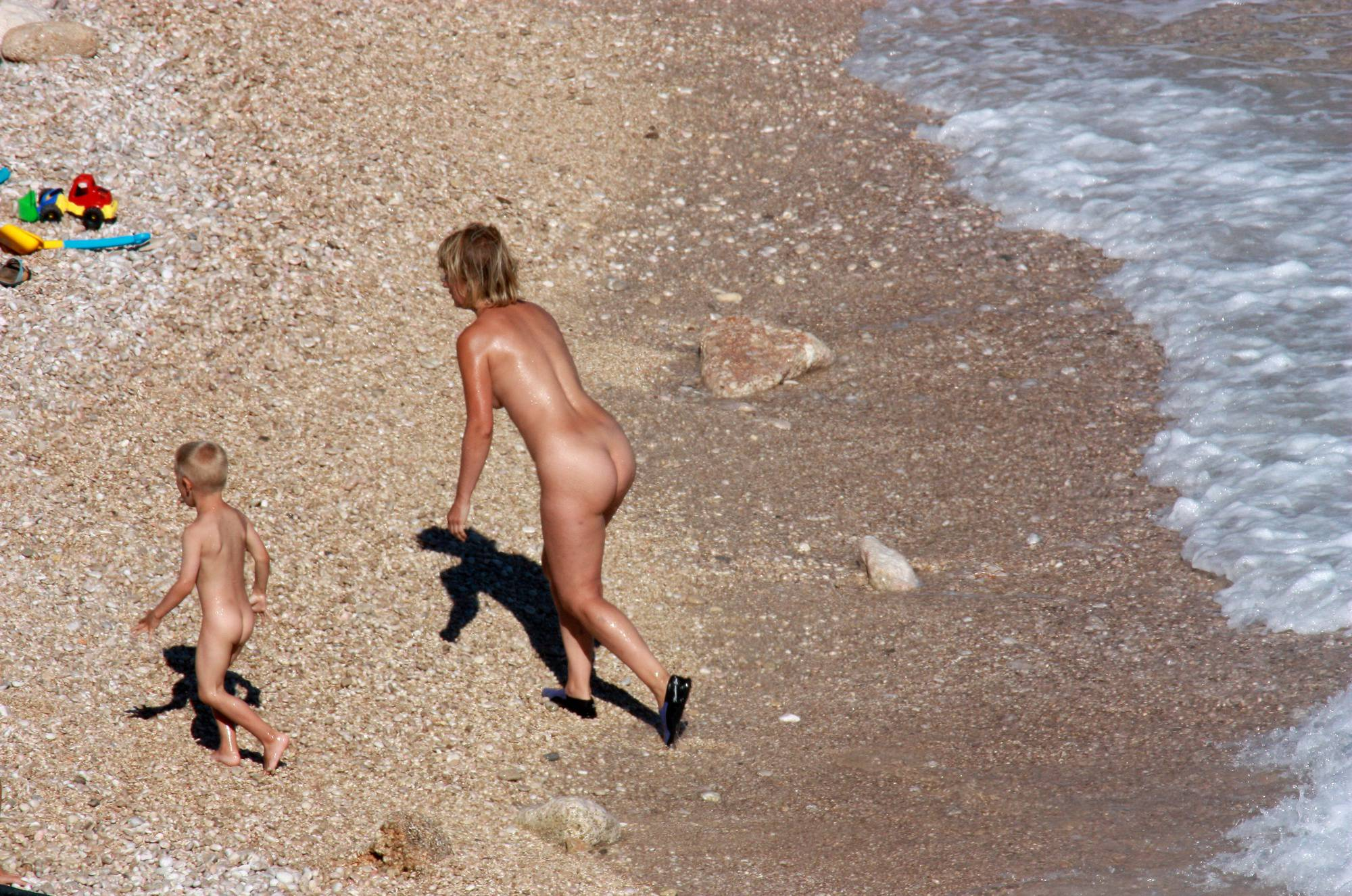 Purenudism Photos In and Out of Nudist Lake - 2