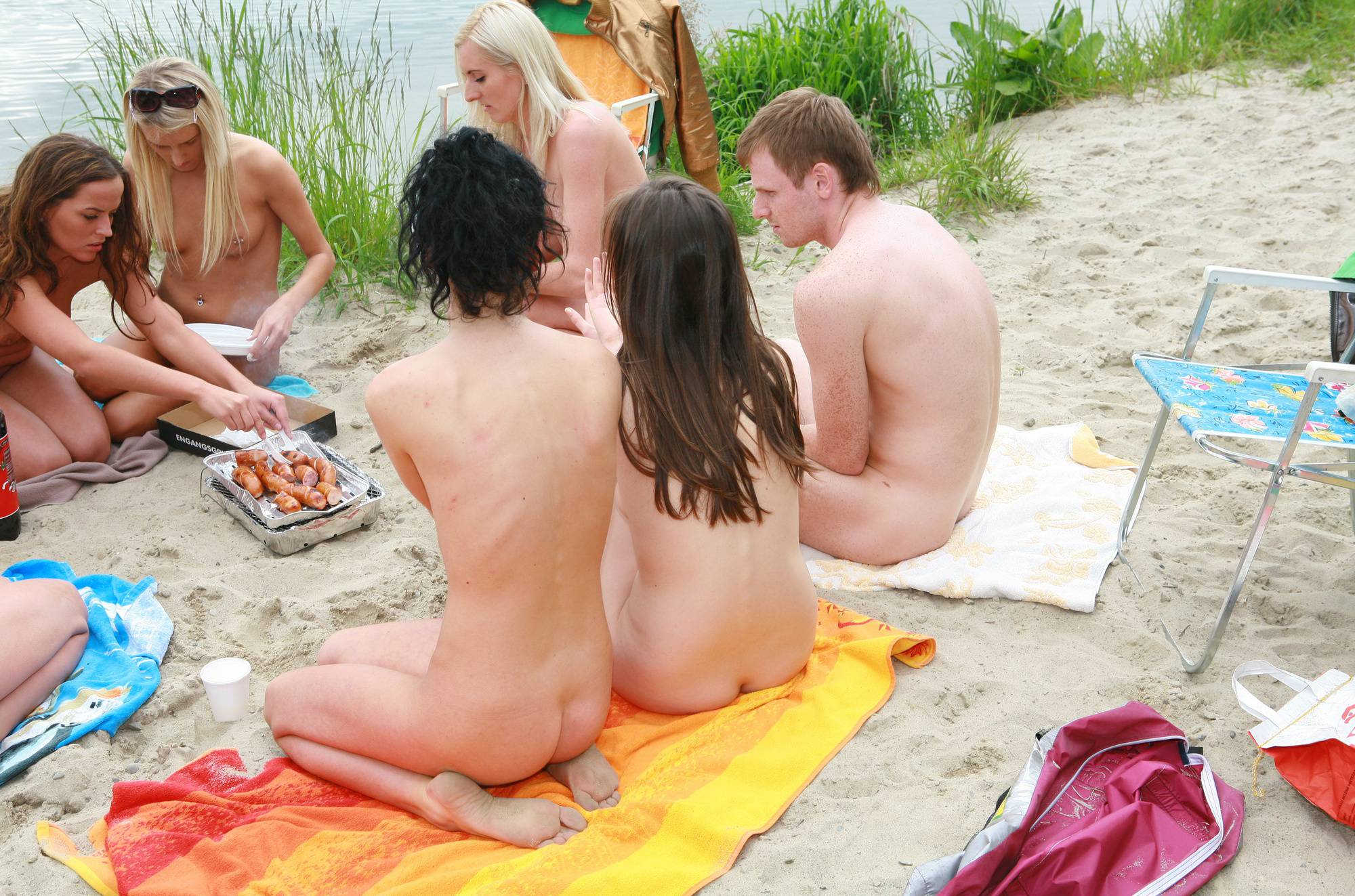 Pure Nudism Gallery Lakeside Picnic For All - 2