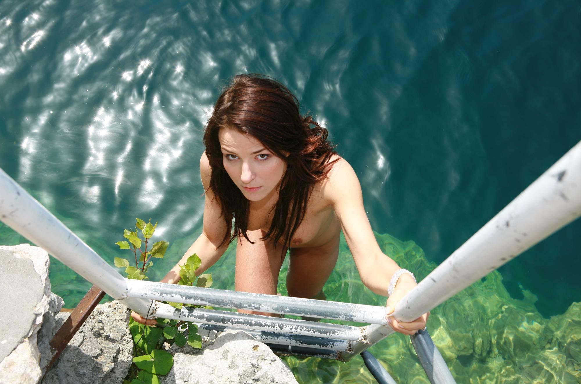 Sunny Day Dip In The Lake - 3