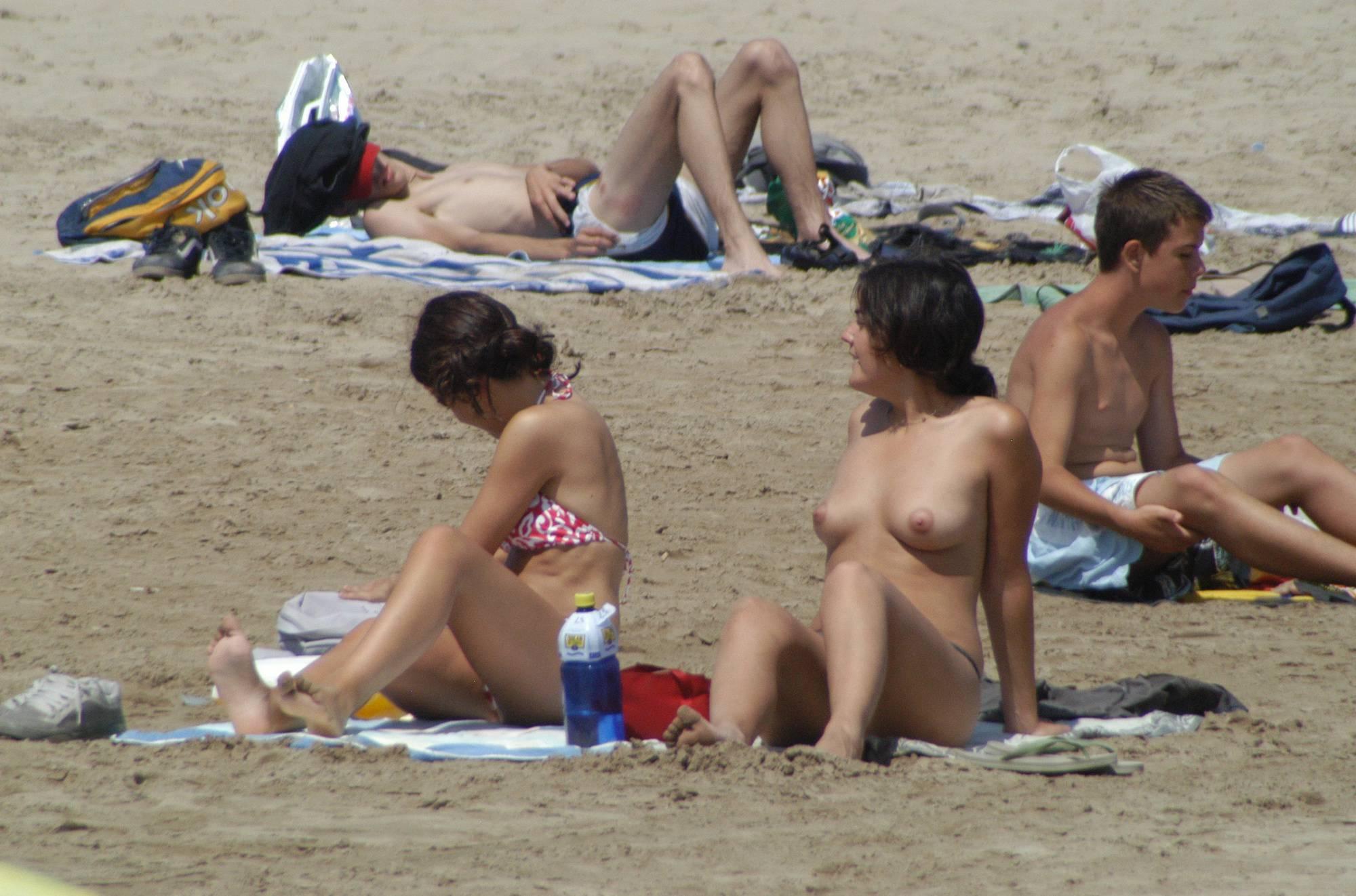 Vilanova Topless Beach - 1