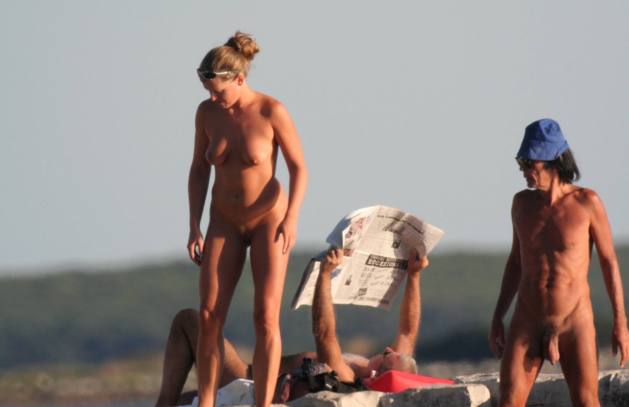 Pure Nudism Images The Sun Is Setting Now - 1