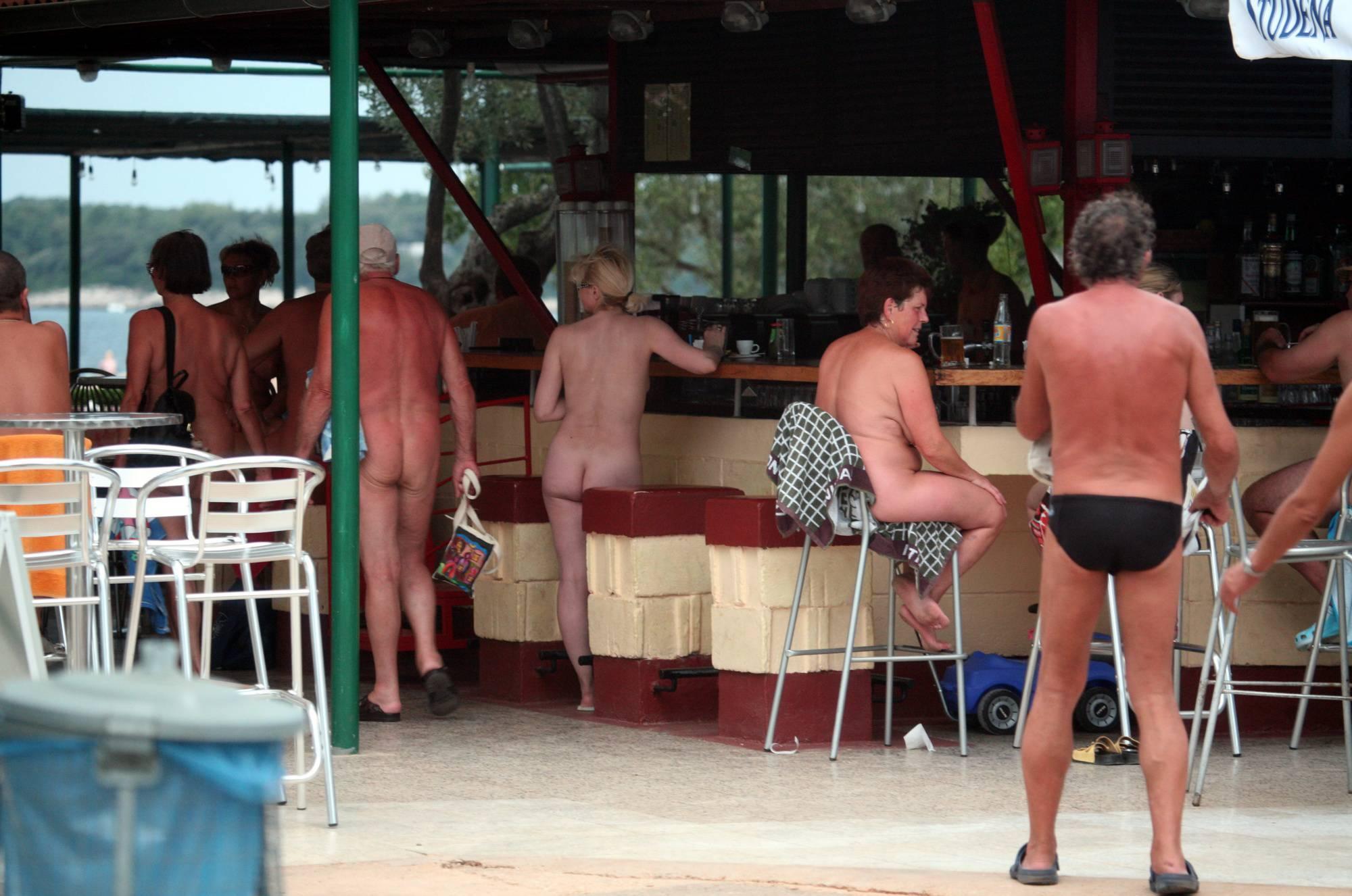 Pure Nudism Images Nudist Outdoor Diner View - 2