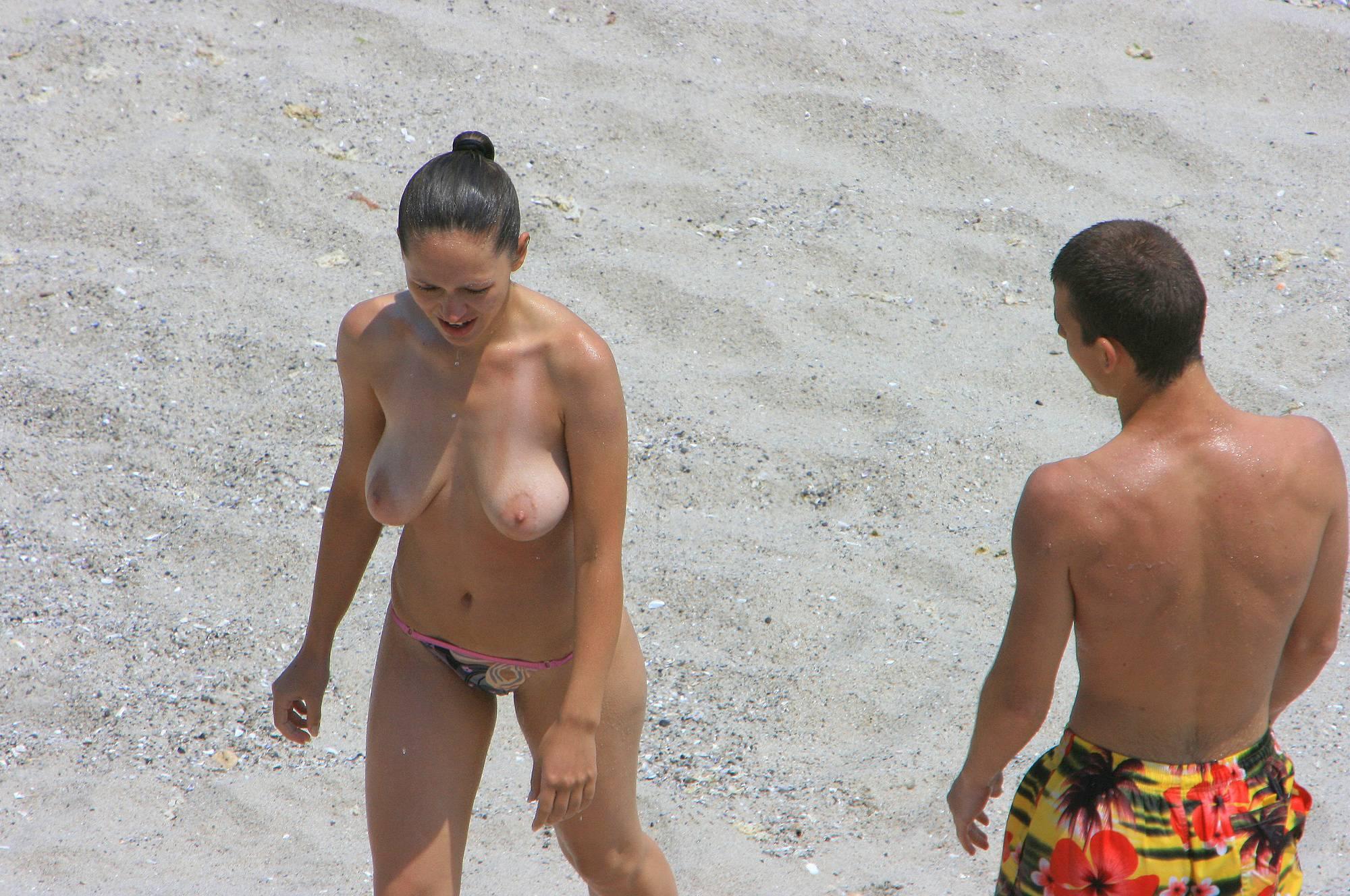 Bulgarian Topless Couple - 1