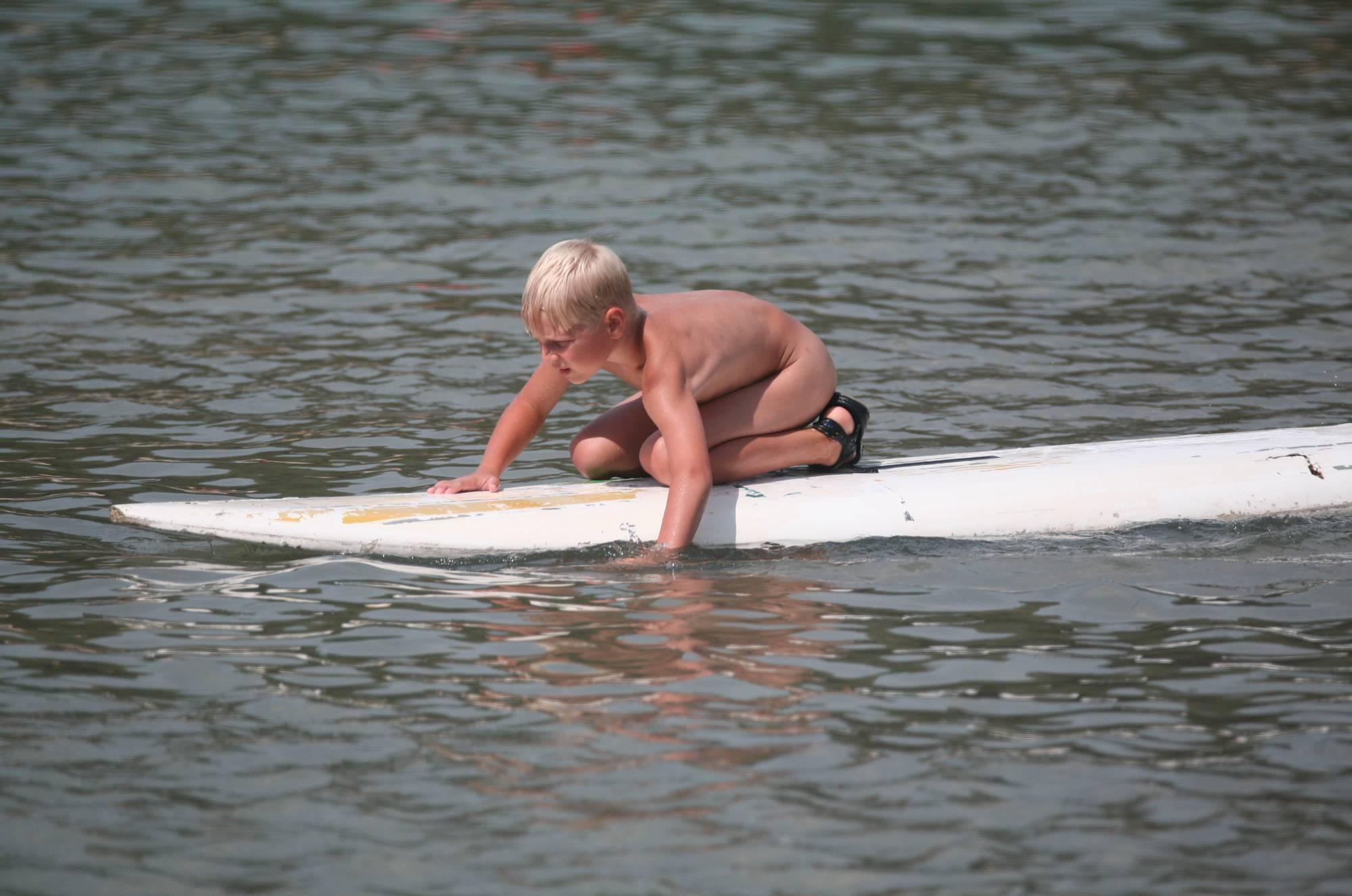 Naturist White Boy Surfer - 3