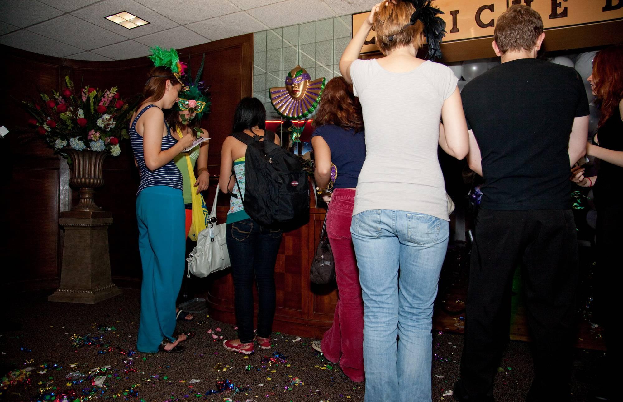 Masquerade Hallway Fun - 2