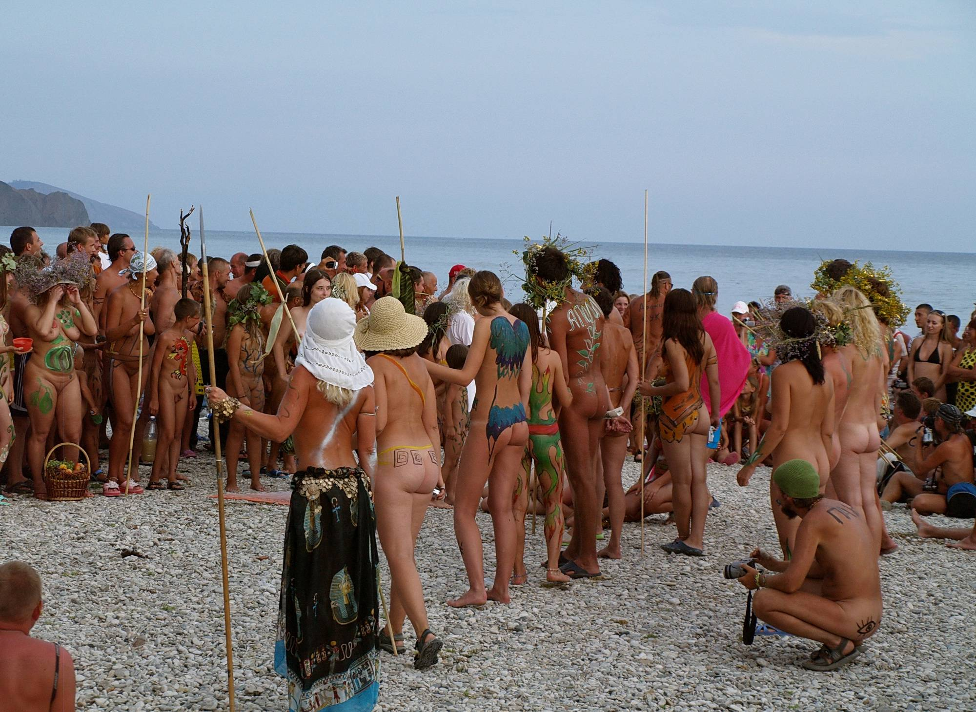 Pure Nudism Photos Naturist Party Mega Bash - 2