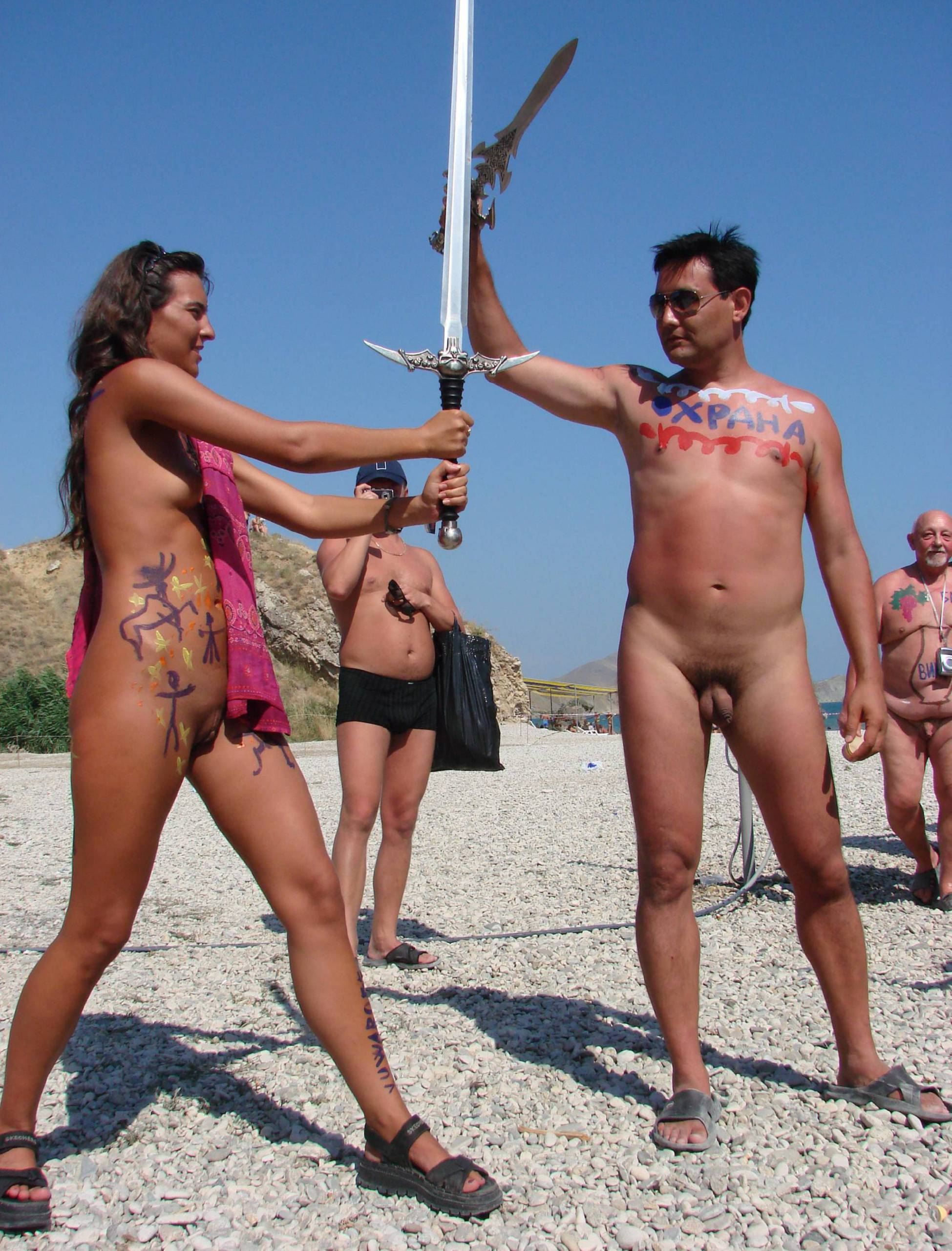 Pure Nudism Photos Neptune Day Sword Fights - 1