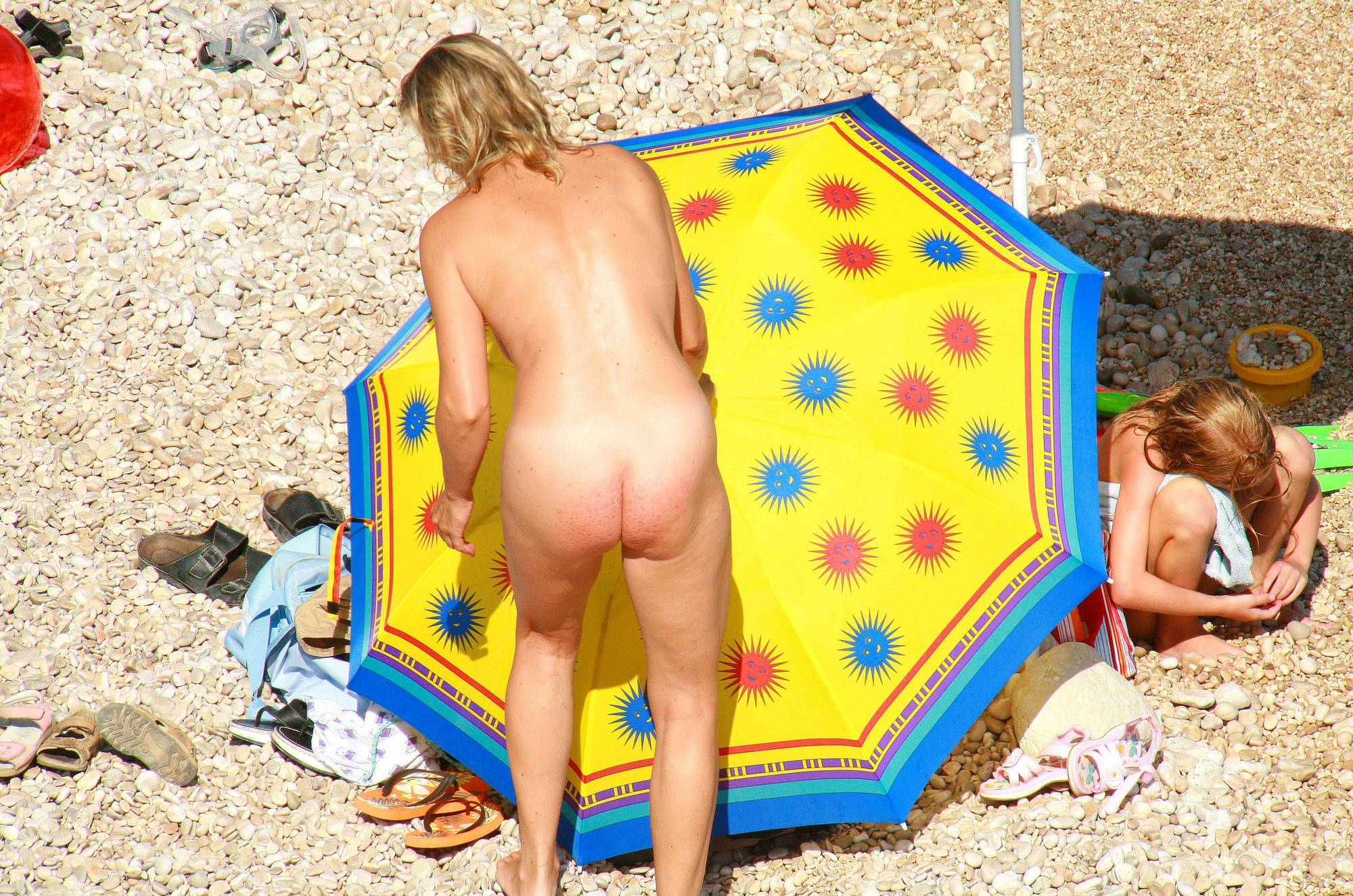 Pure Nudism Photos Ula FKK Water-Front Family - 1
