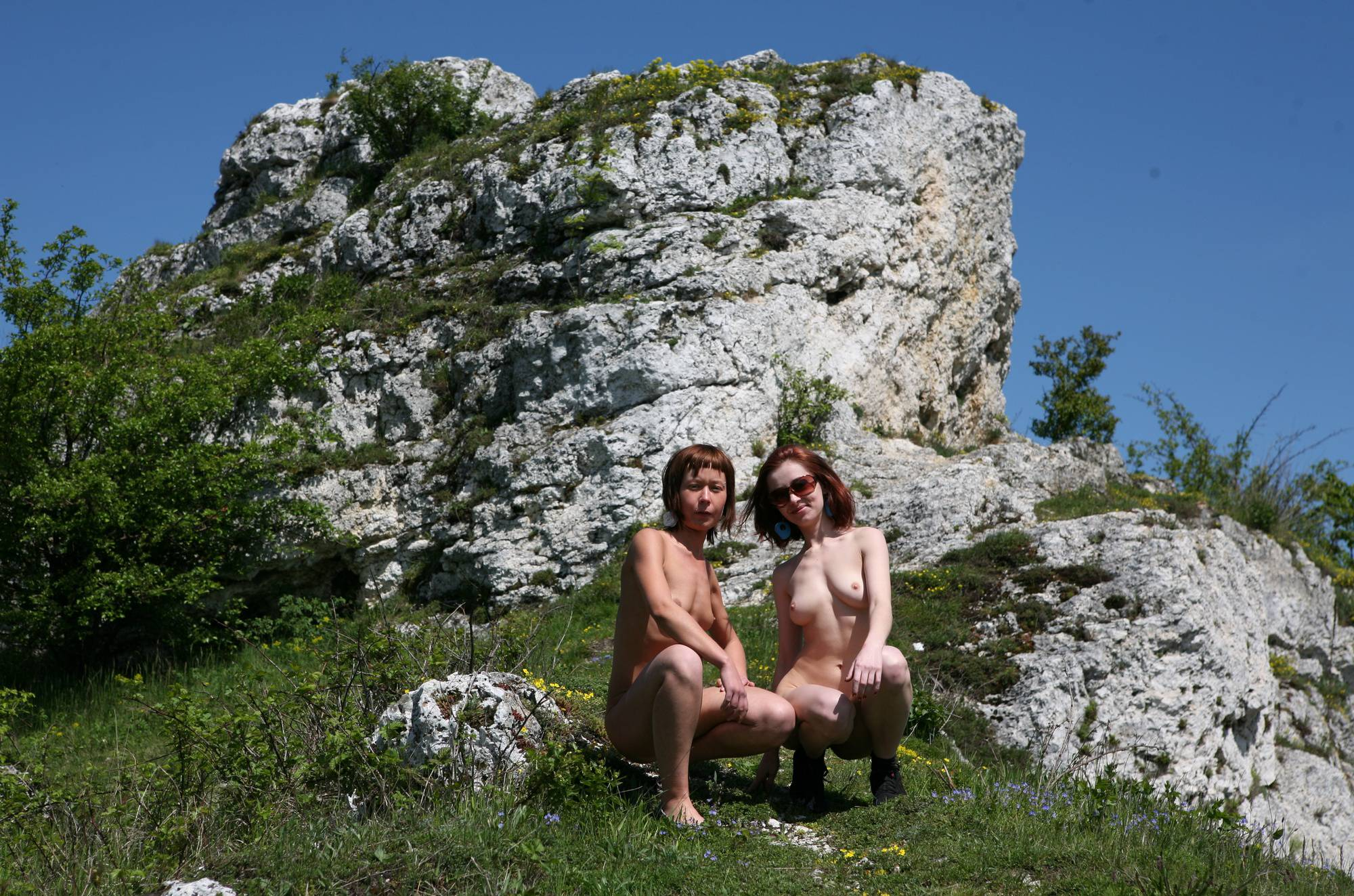 Purenudism Ranch Mountain Hiking - 1